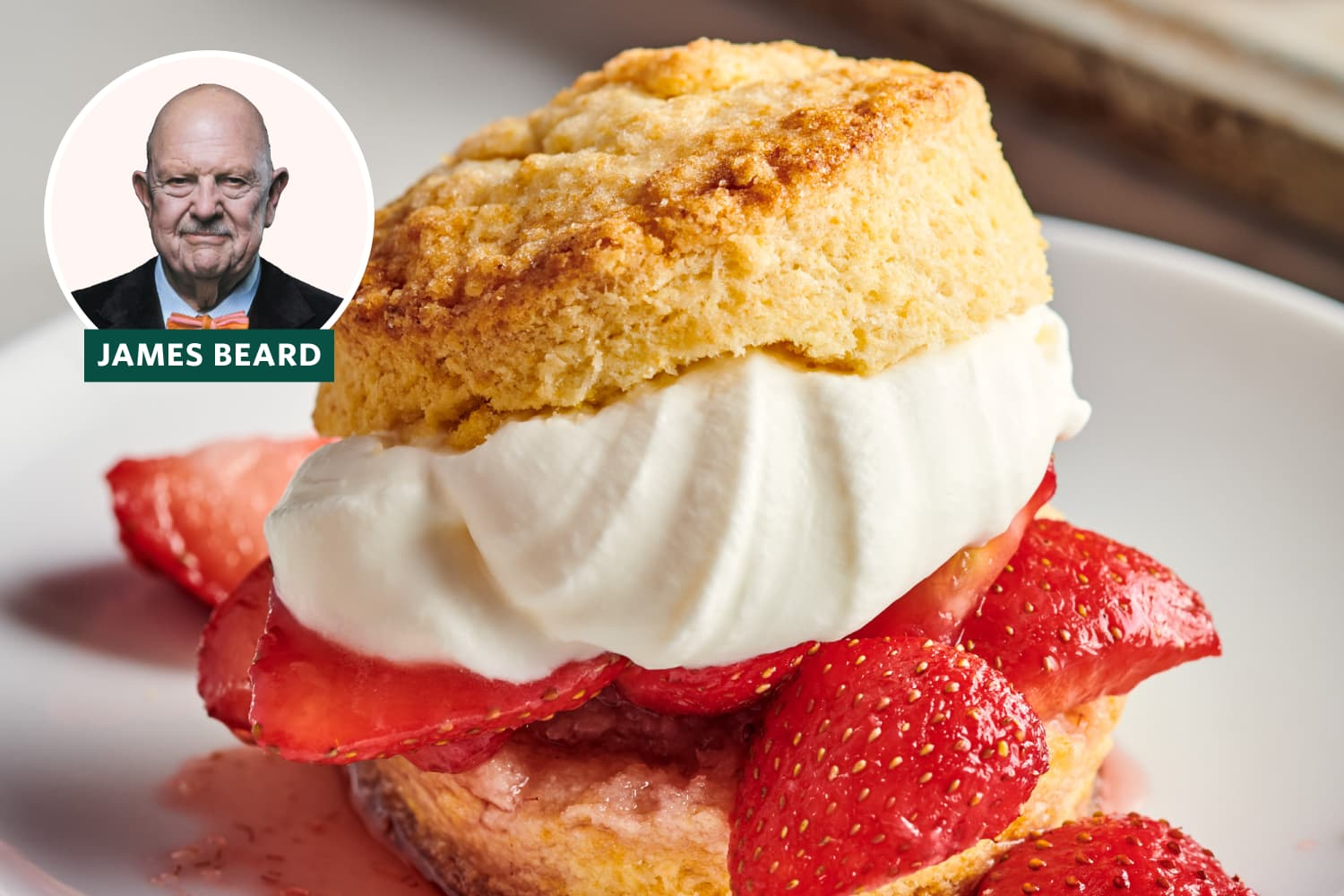The Secret to Rich and Tender Shortcakes? Hard-Boiled Eggs.