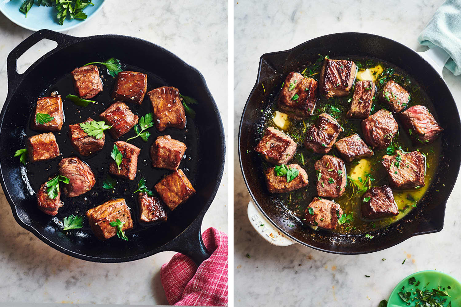 These 3-Ingredient Steak Bite Dinners Are Ready in 15 Minutes