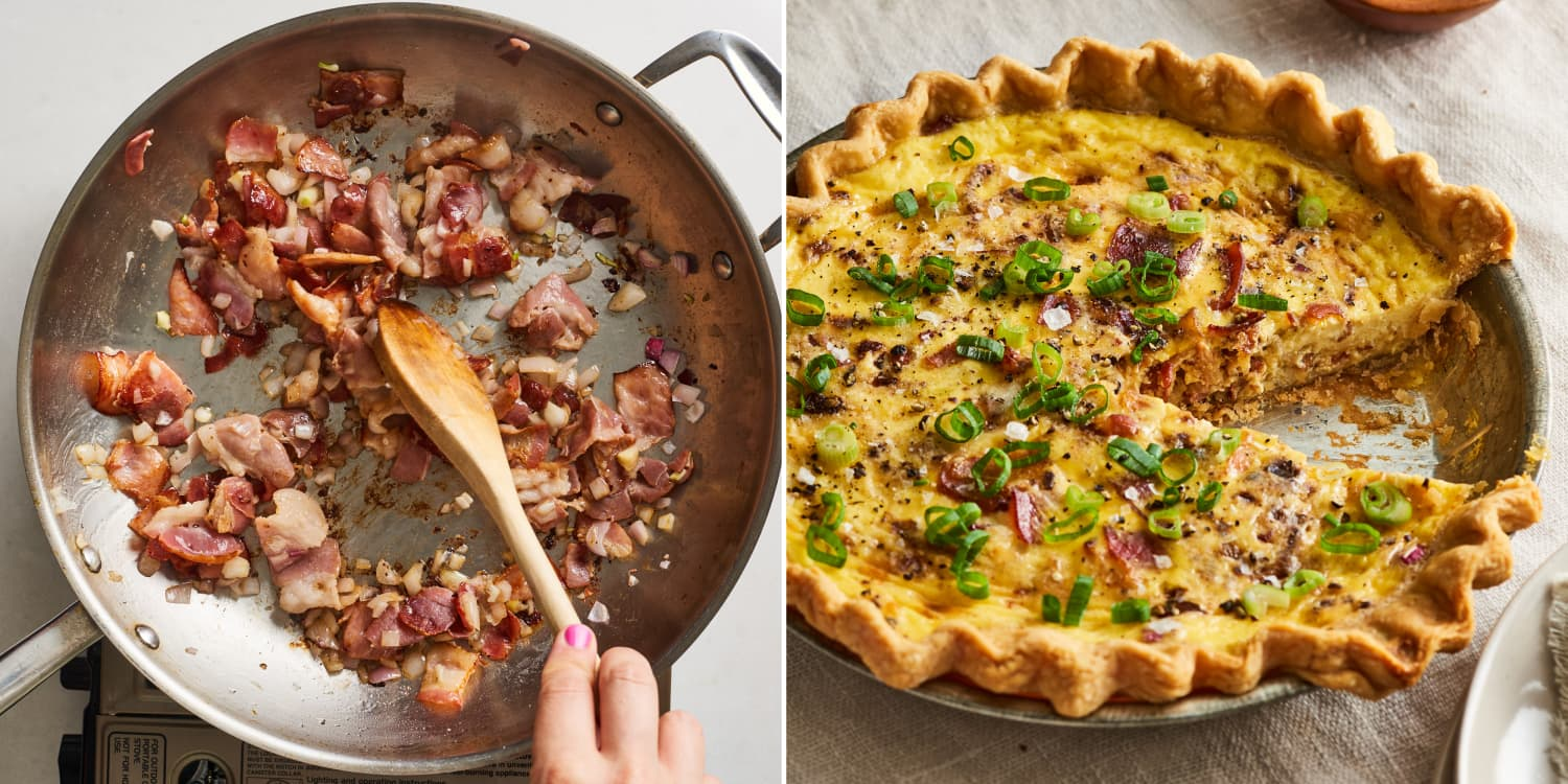 How To Make the Ultimate Classic Quiche Lorraine