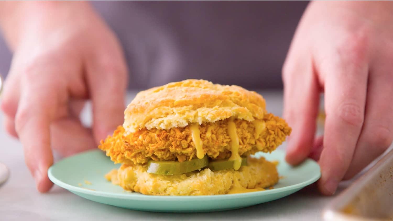 Recipe: Sheet Pan Fried Chicken Sandwiches