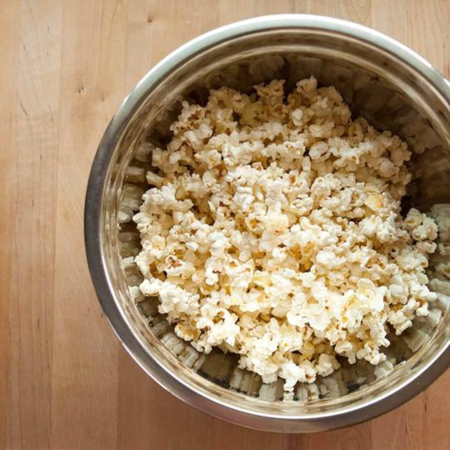 Alton Brown's Trick for Perfect Stovetop Popcorn
