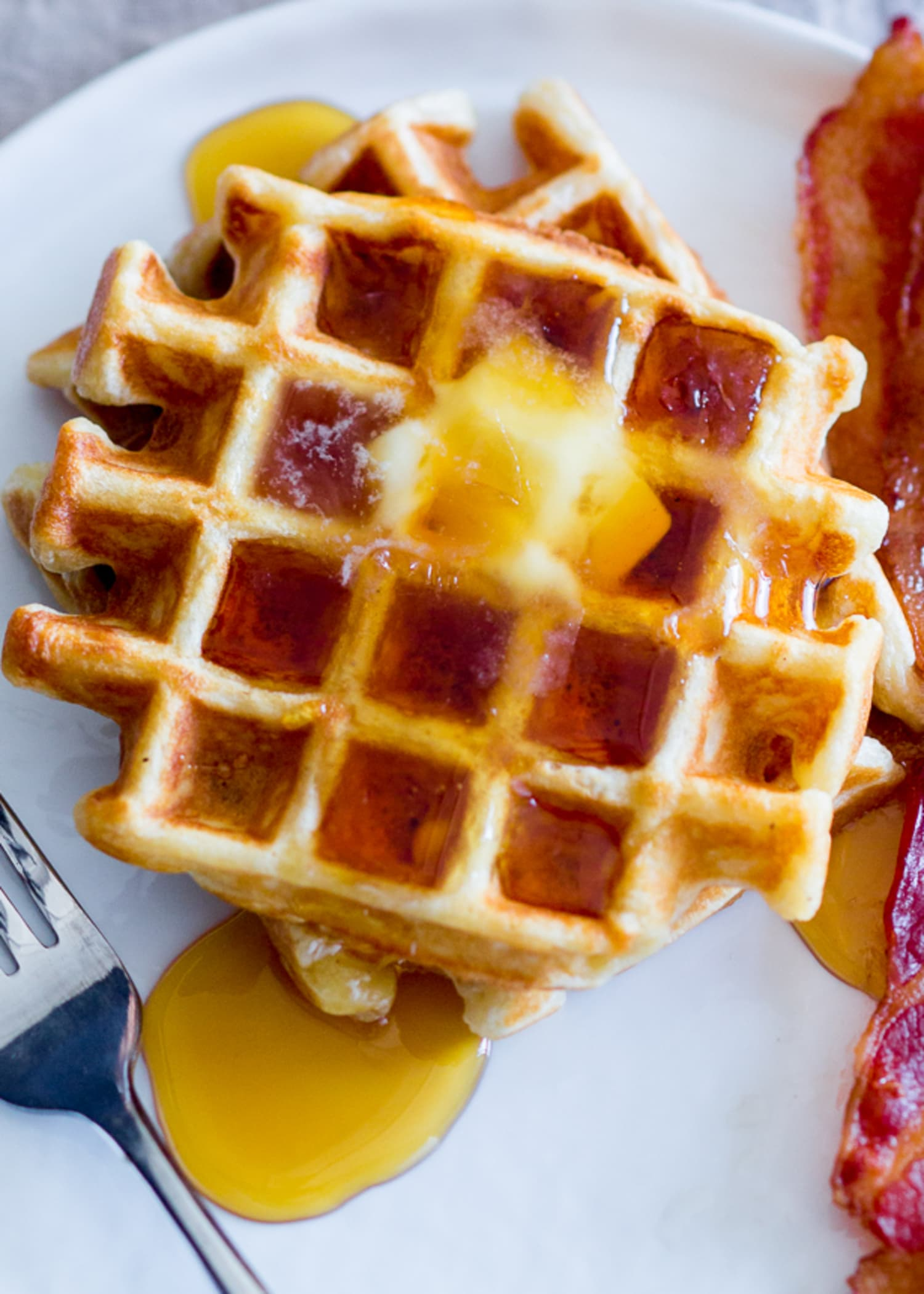 PSA: You Can Make Waffles with Just One Ingredient