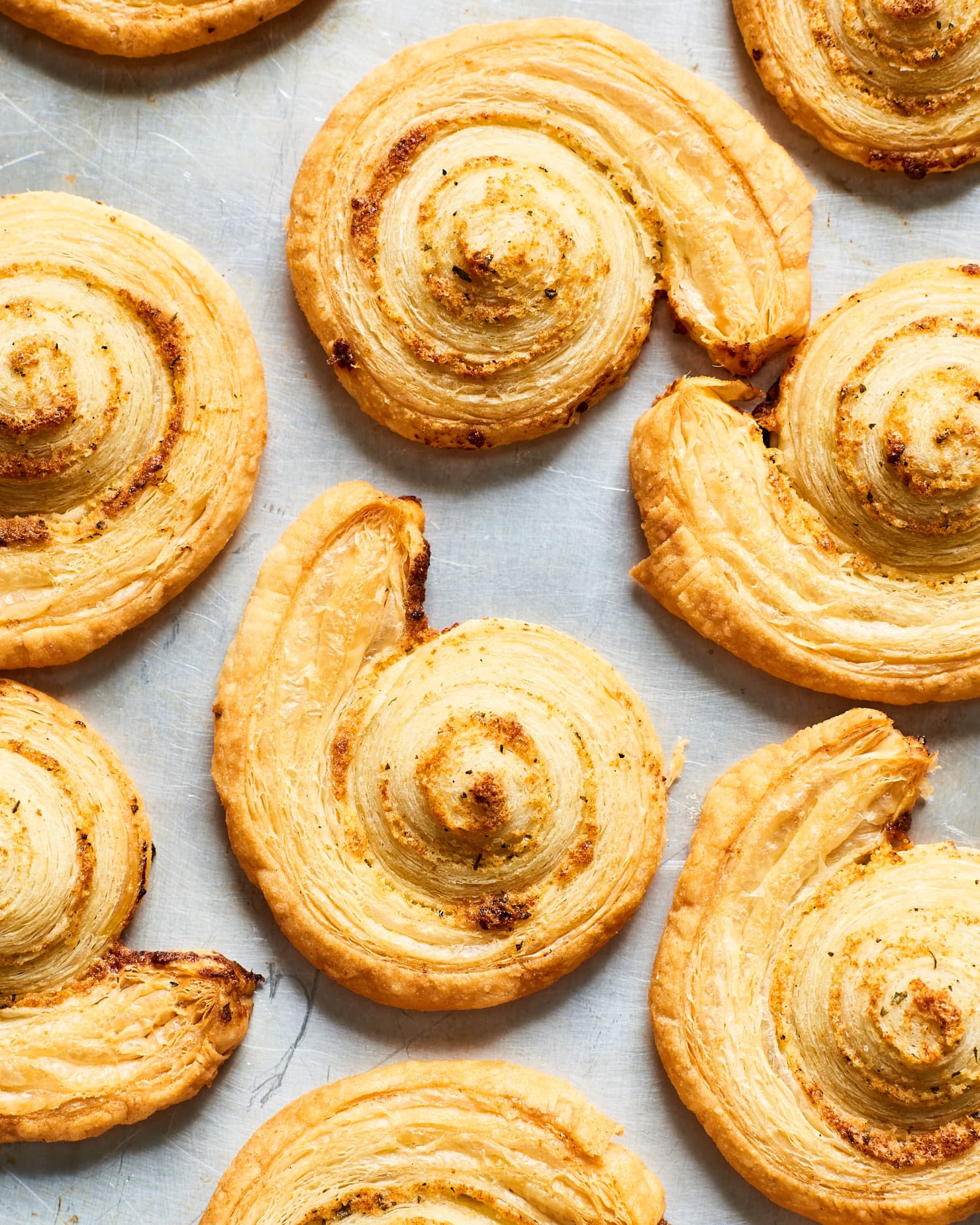 These 2-Ingredient Ranch Pinwheels Are Buttery, Garlicky, Herby Perfection