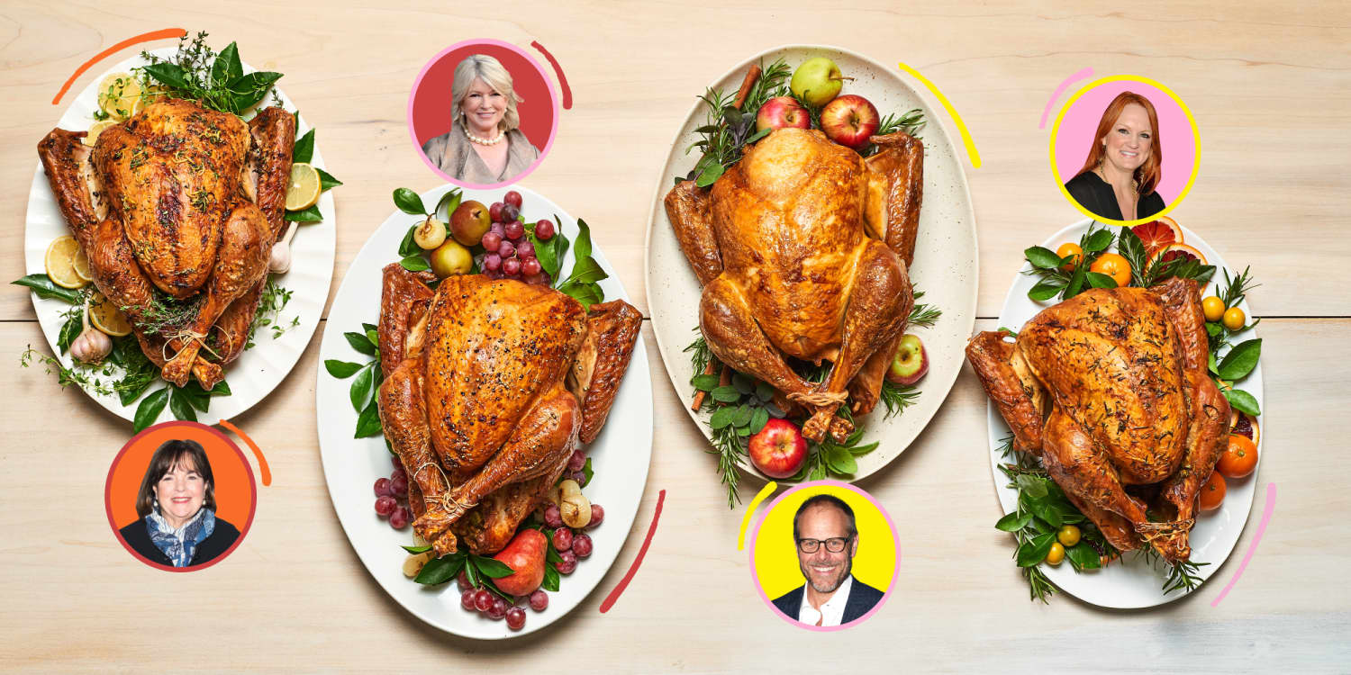 We Tried Ina, Alton, Ree, and Martha's Best Thanksgiving Recipes, and There Were Clear Winners