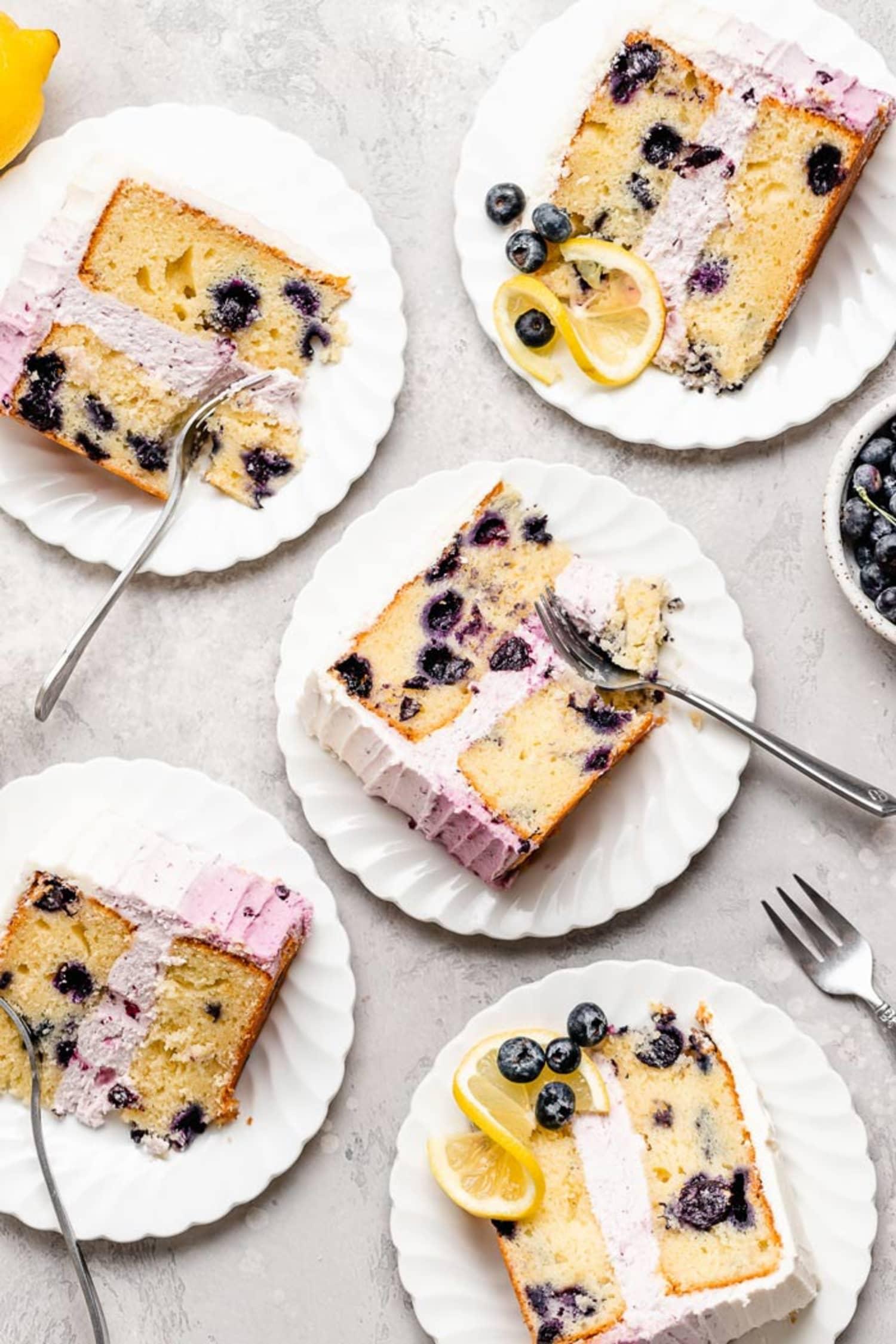 This Tender Blueberry Lemon Cake Is a Summer Stunner