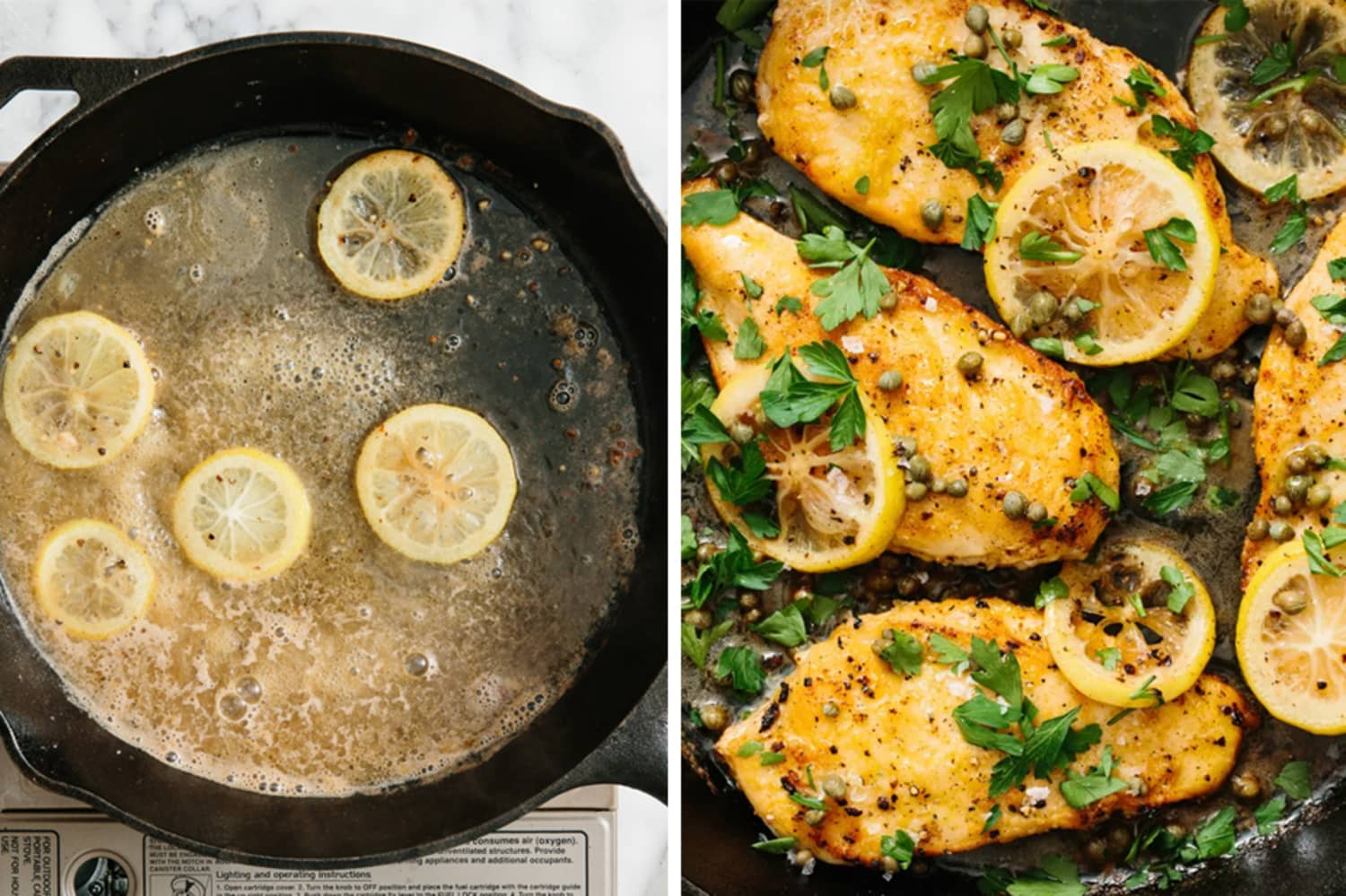 Treat Yourself to This Italian-American Lemon-Butter Chicken Piccata