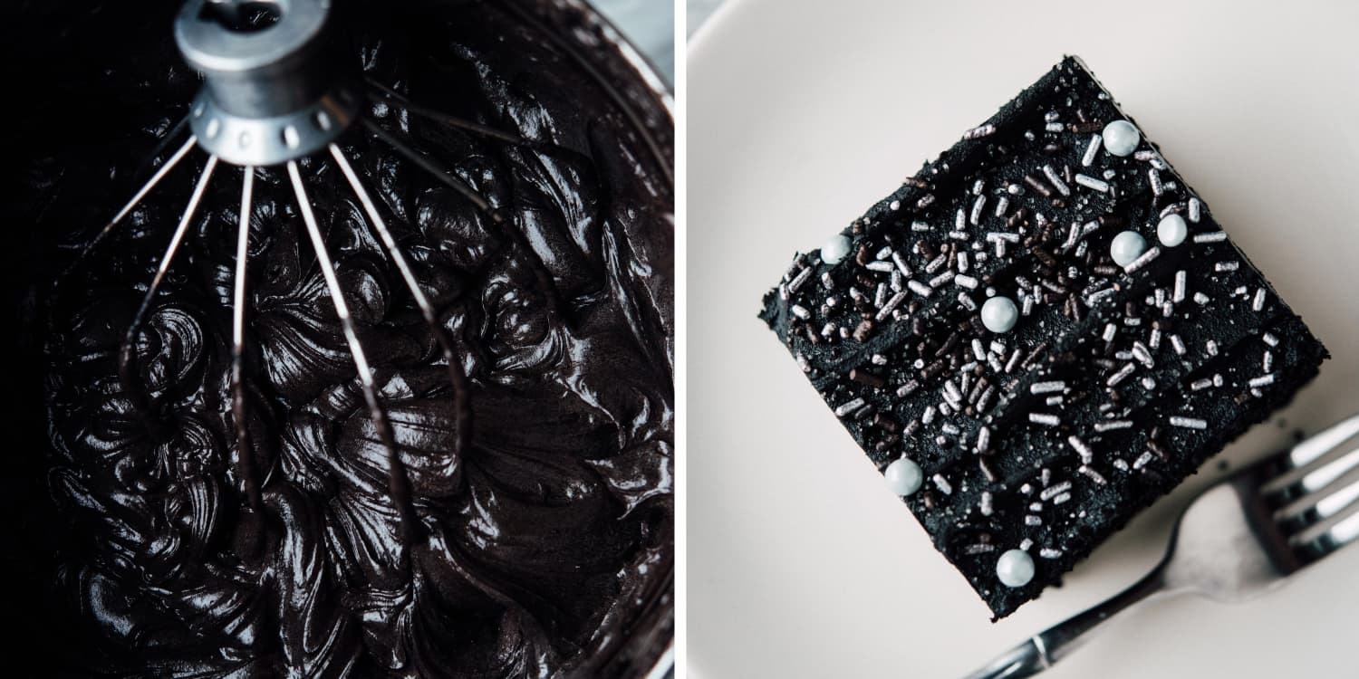 This Intense Black Cocoa & Coffee Cake is a Chocolate Lover's Dream