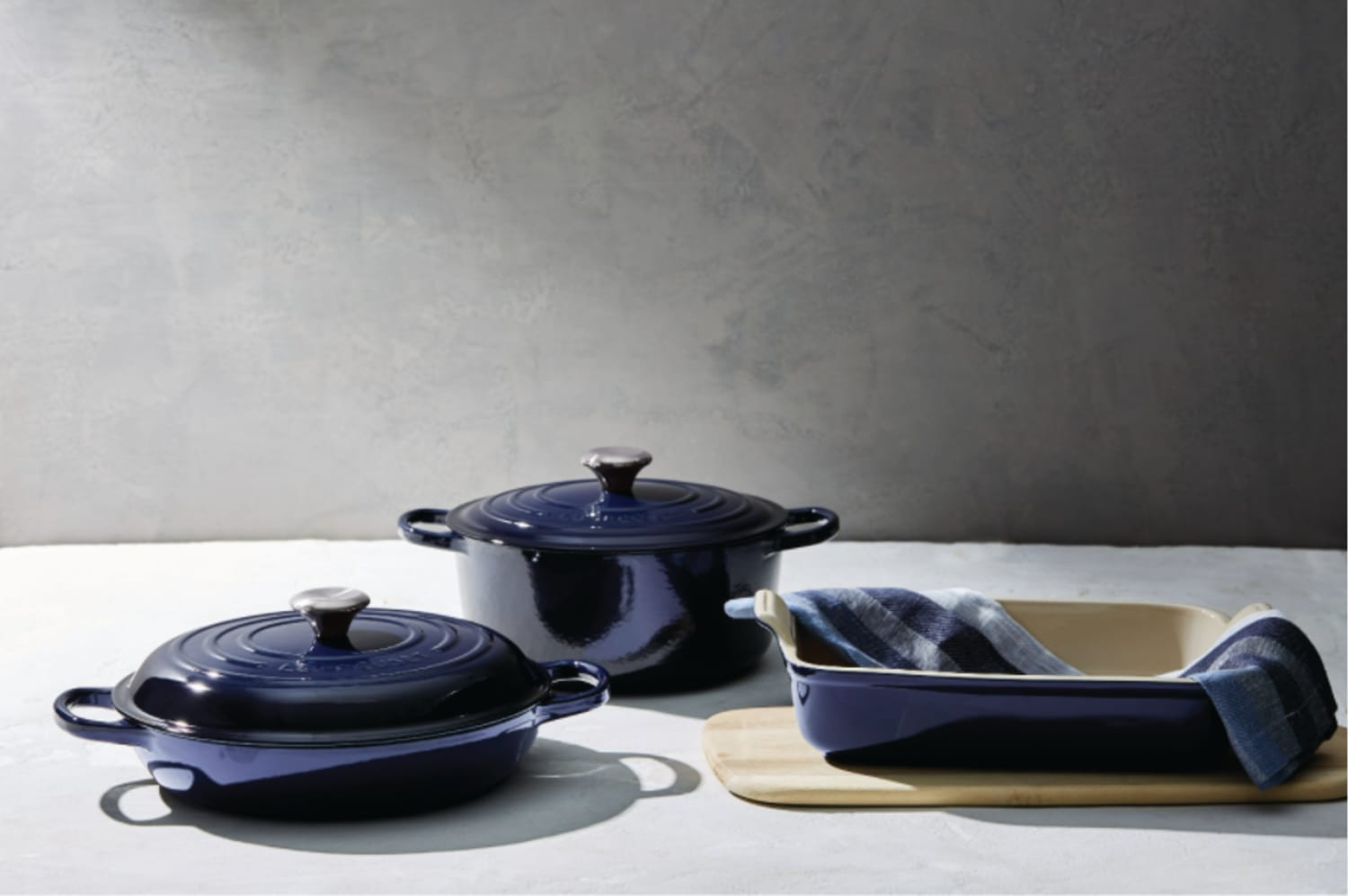 Le Creuset Just Launched a Brand New Color That's Out of this World (No, Really!)