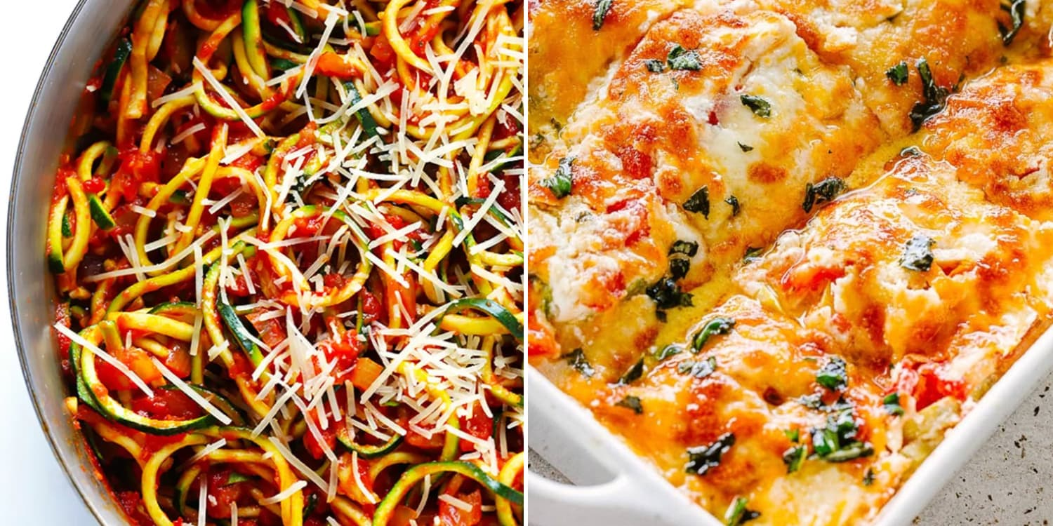 10 Cheesy Low-Carb Recipes That Use Zucchini