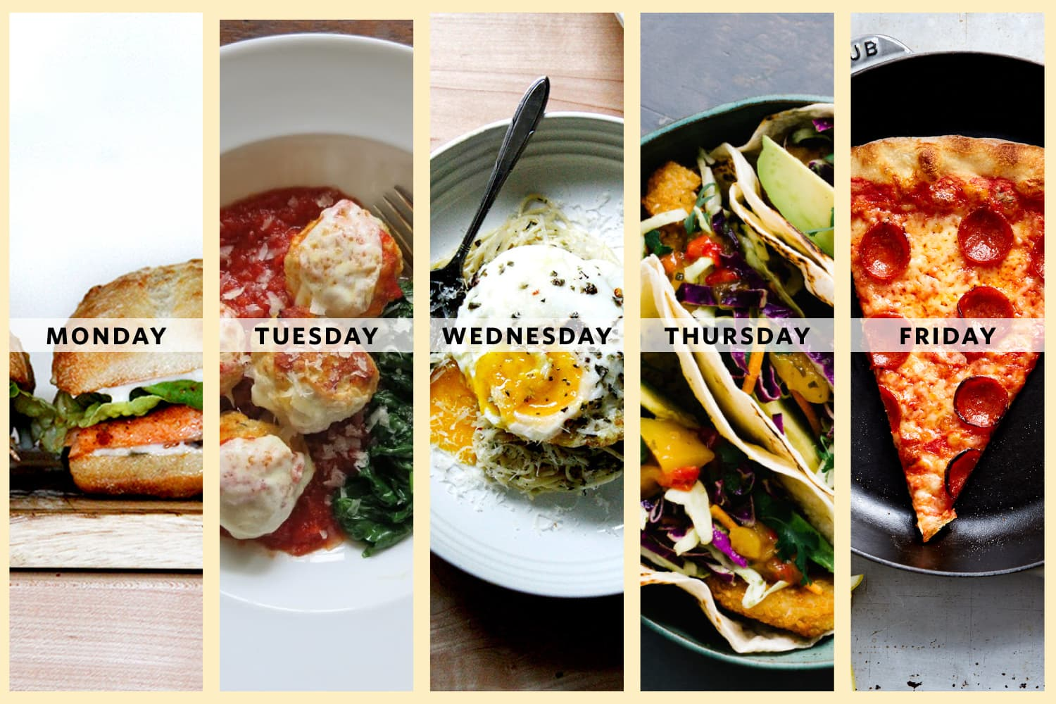 The Smartest Weeknight Meal Plan from Joanna Goddard of Cup of Jo