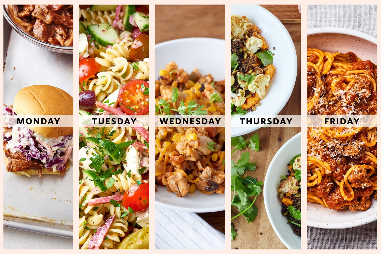 Next Week's Meal Plan: 5 Dinners You Can Make *Entirely* Ahead of Time
