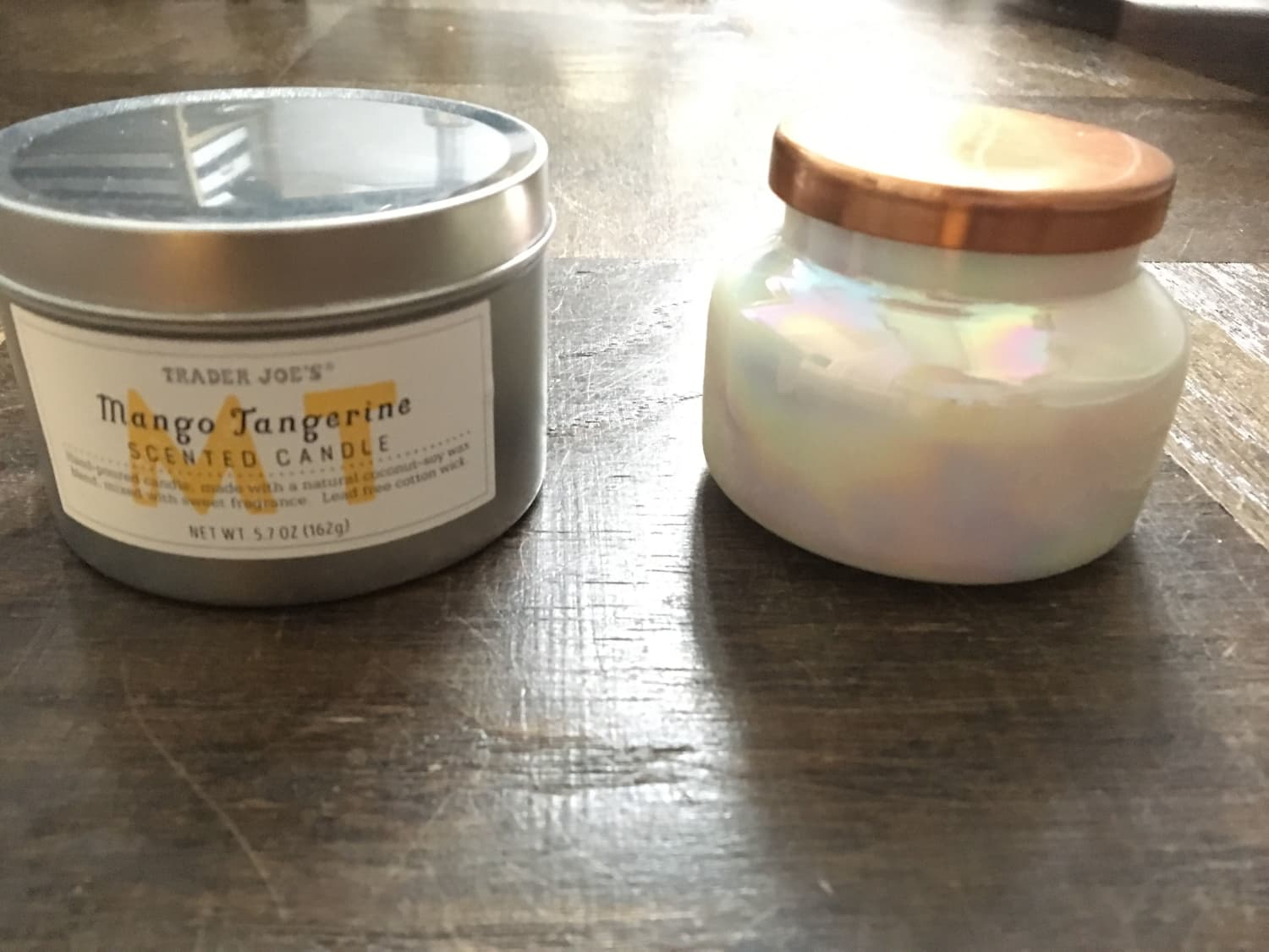 Is This $4 Trader Joe's Candle a Dupe for Anthropologie's Cult-Favorite Volcano Candle?