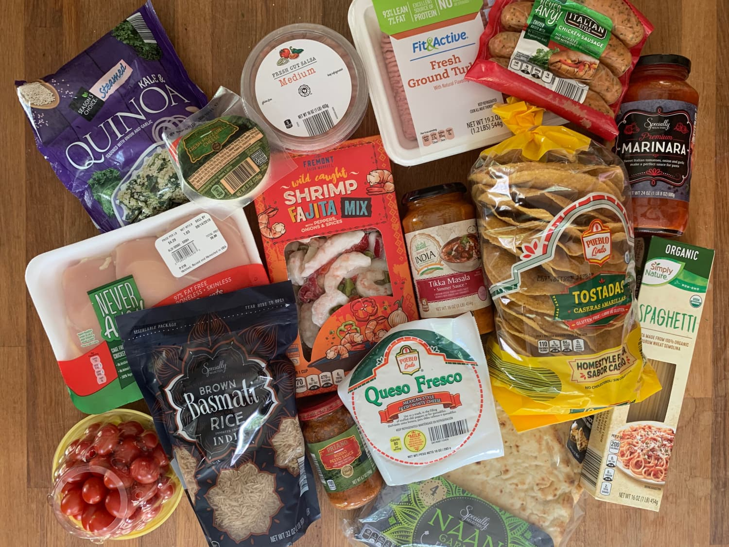 This Aldi Haul Cost Less than $50 — And Here's What I Made with It All