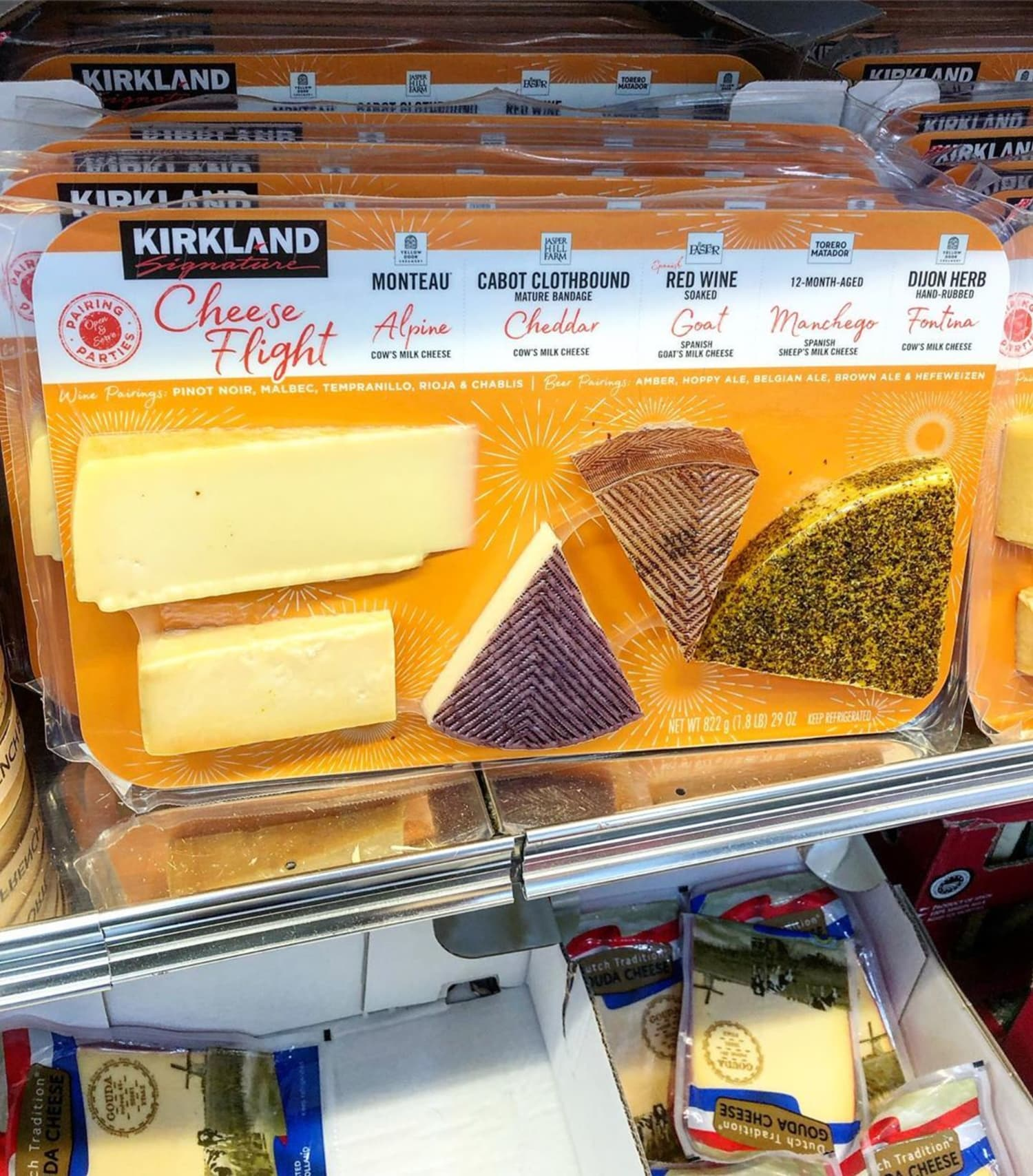 Costco's New Cheese Flight Sounds Like the Best Snack on the Planet