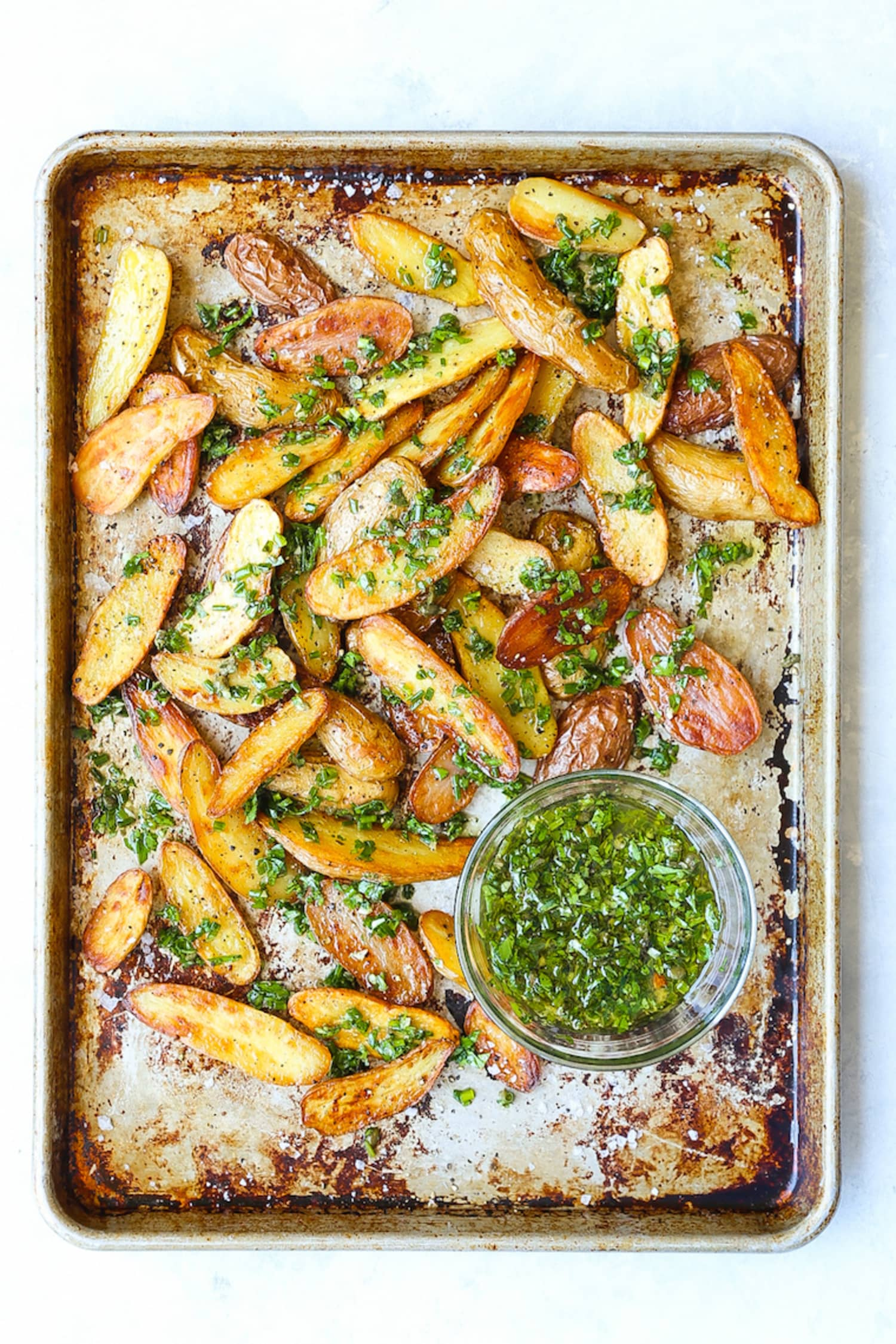 Baked Garlic Herb Potato Wedges Are Better than French Fries (Yes, Really)
