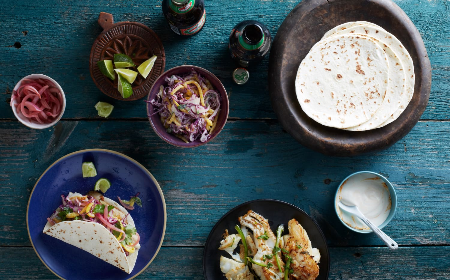 These Seared Fish Tacos Are the Easy Meal You Crave