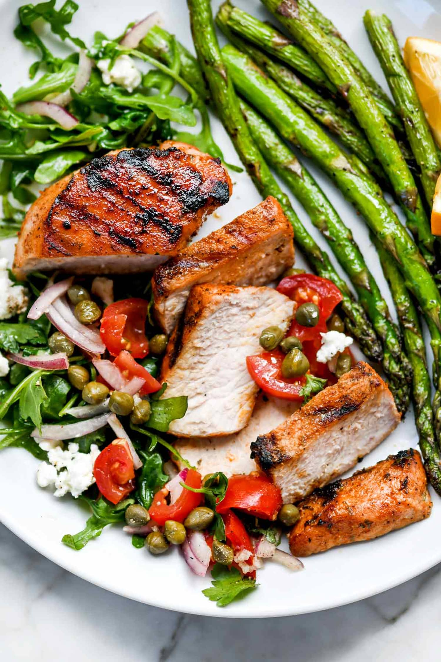 Mediterranean Grilled Pork Chops Are a Summer Treat