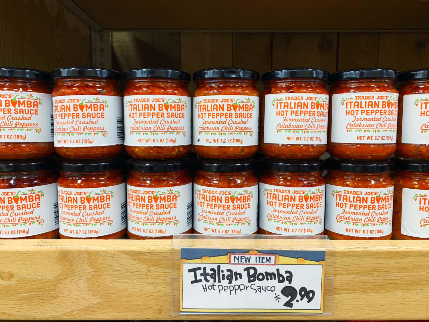 Where Has This Trader Joe's Italian Bomba Hot Pepper Sauce Been All Our Lives?