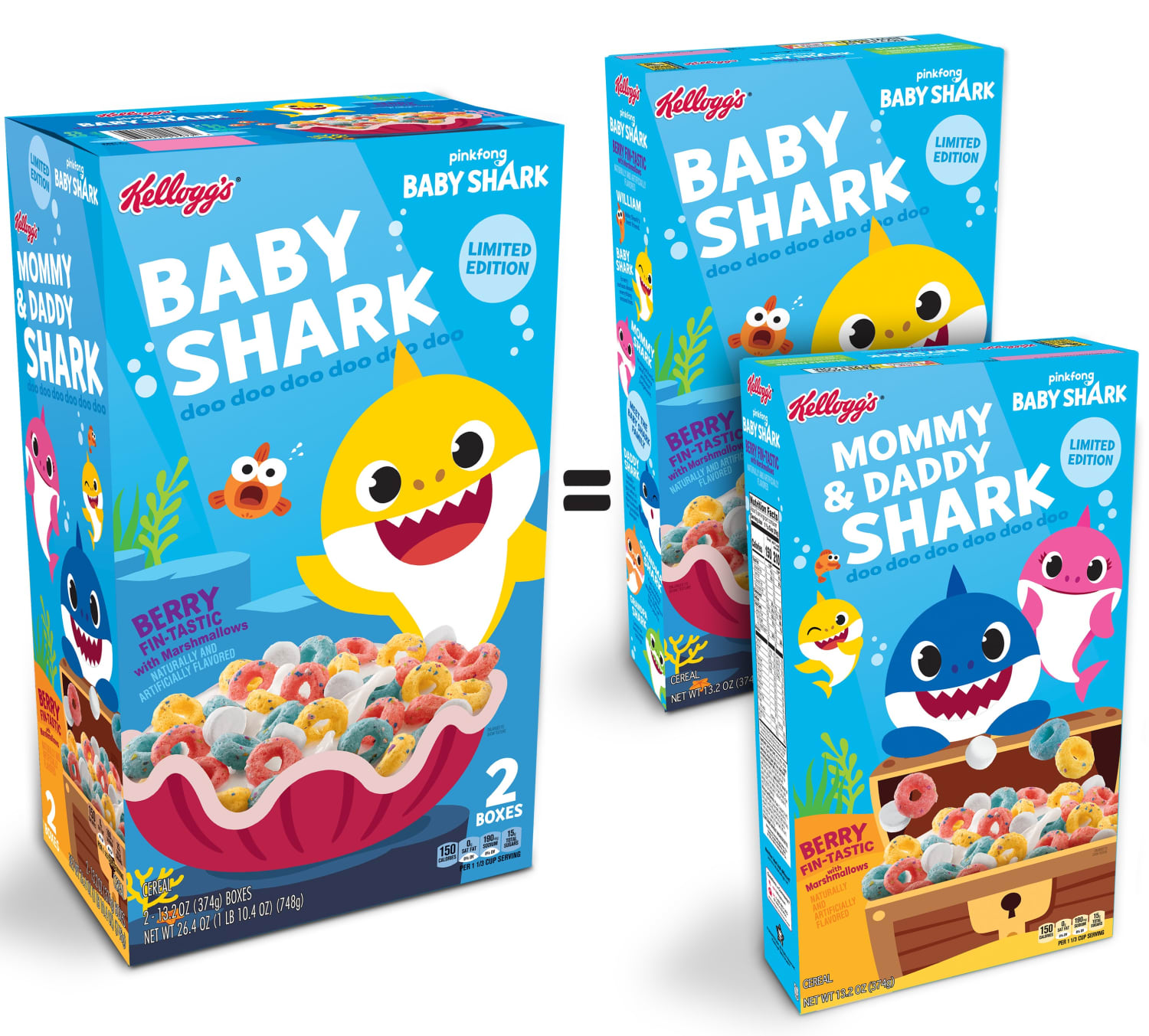 Baby Shark, Now Swimming Down Cereal Aisles