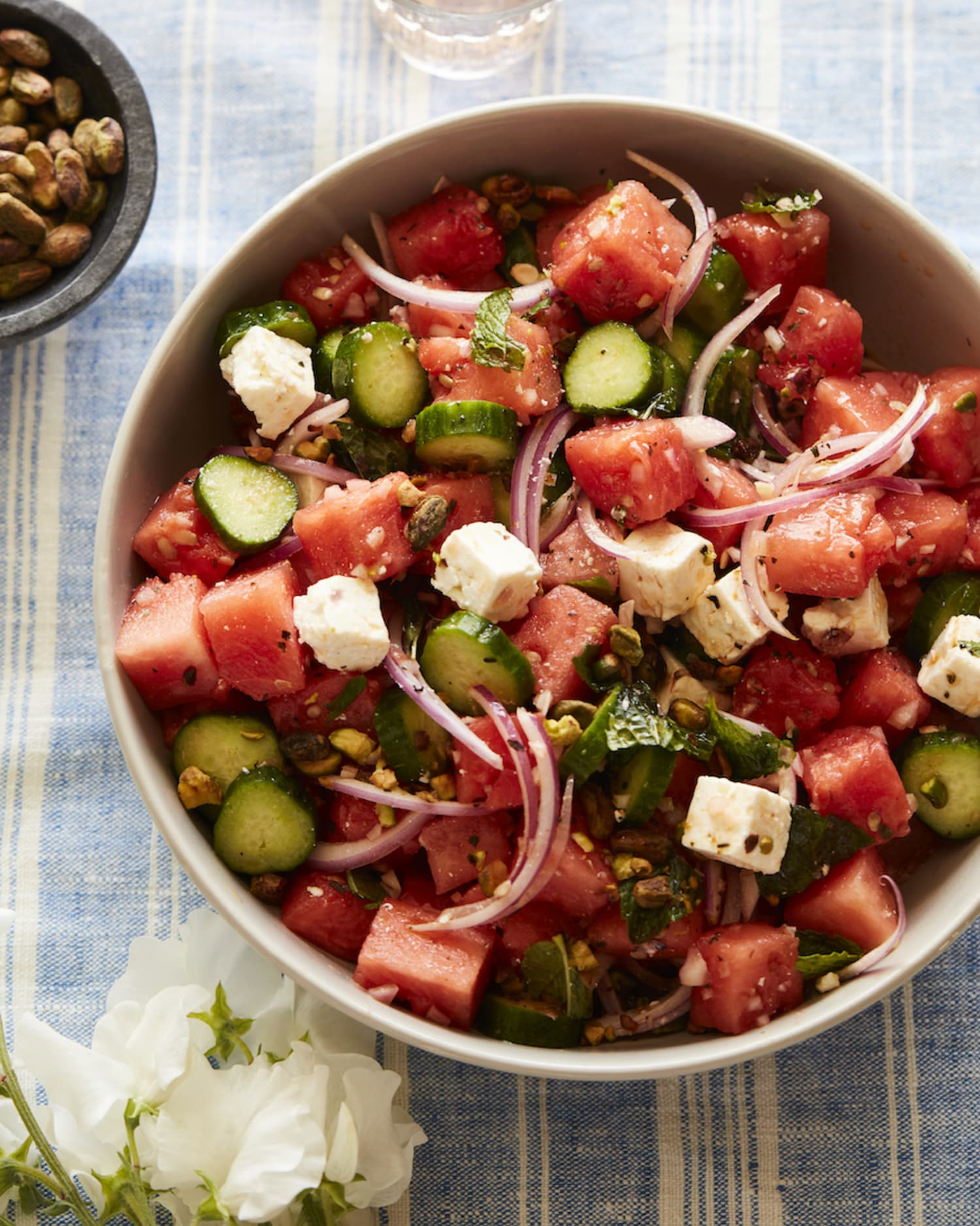 This Watermelon Cucumber Salad Is a Summer Must-Make