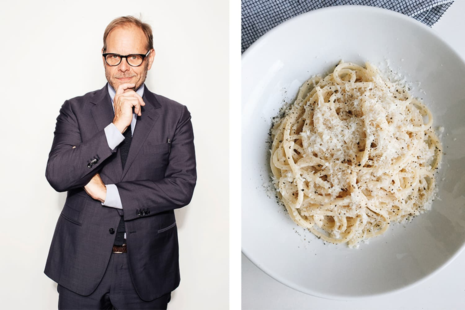 Alton Brown's Weird Trick for Cooking Pasta Actually Works
