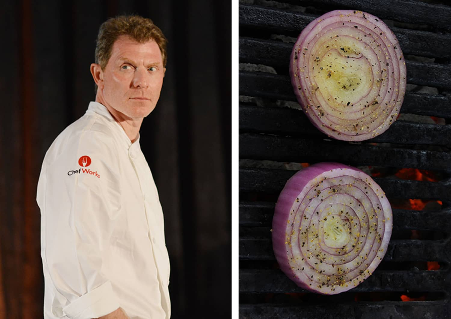 Bobby Flay's Trick for Grilling Onions Is Actually Pretty Brilliant
