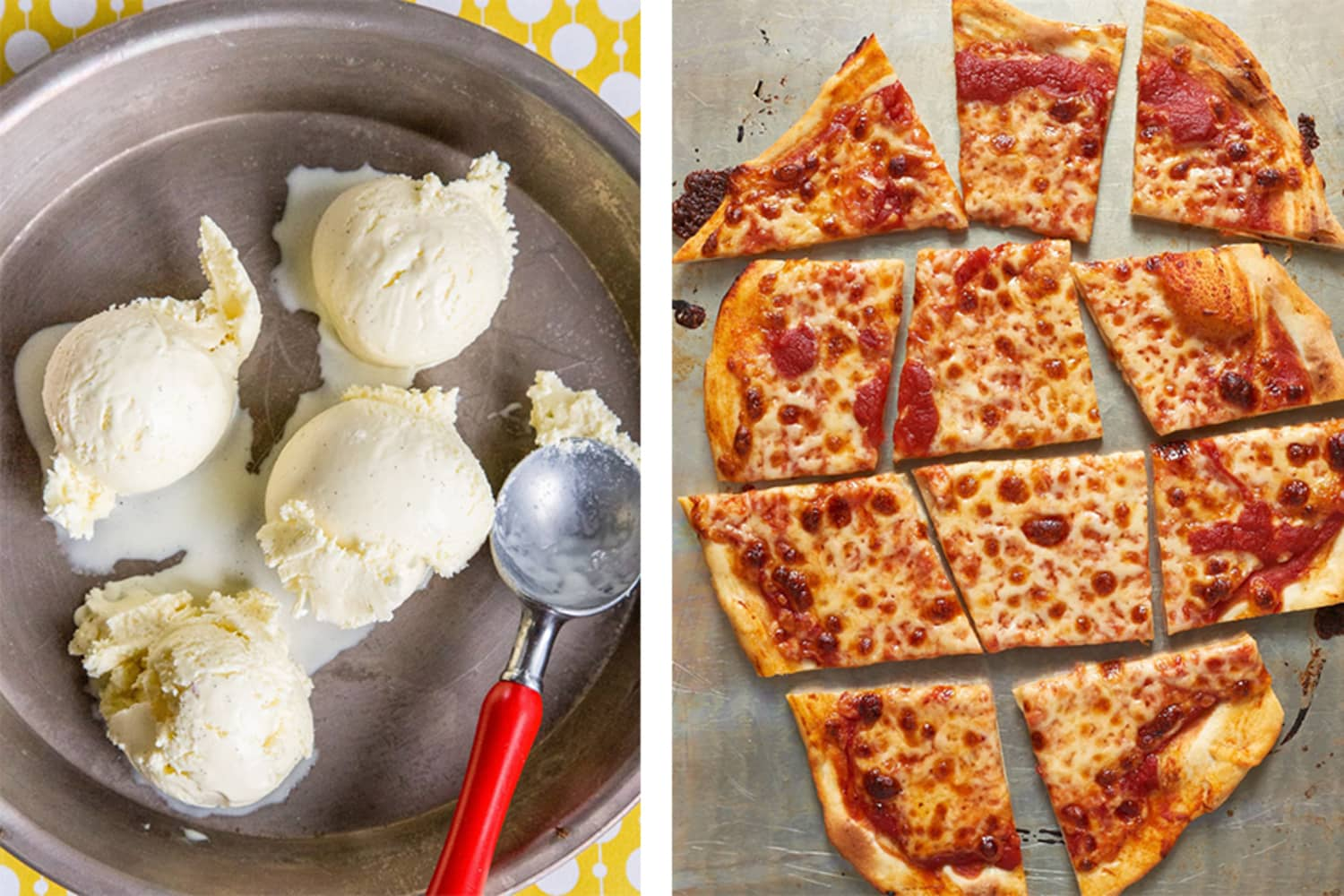 The Ultimate Ice Cream and Pizza Topping Pairing