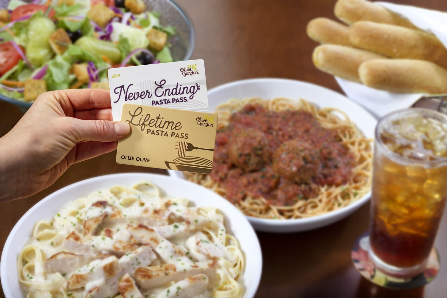 Olive Garden Has Finally Unveiled Its Magnum Opus: The Lifetime Pasta Pass
