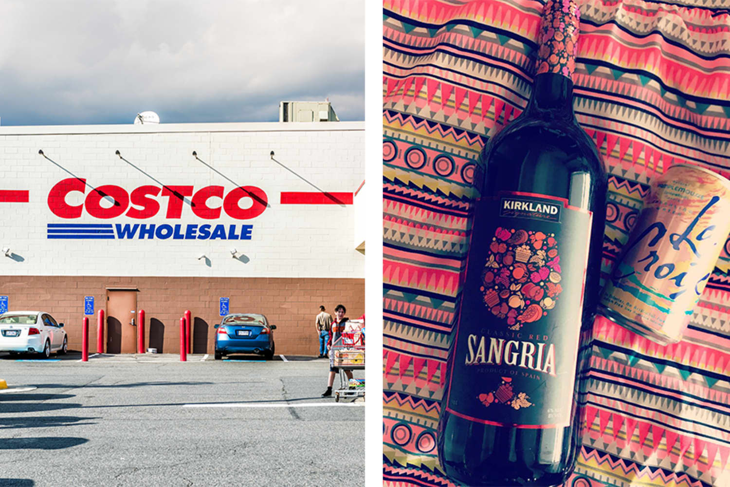 Costco's Giant Summer-Ready Sangria Bottles Are Only $6.99