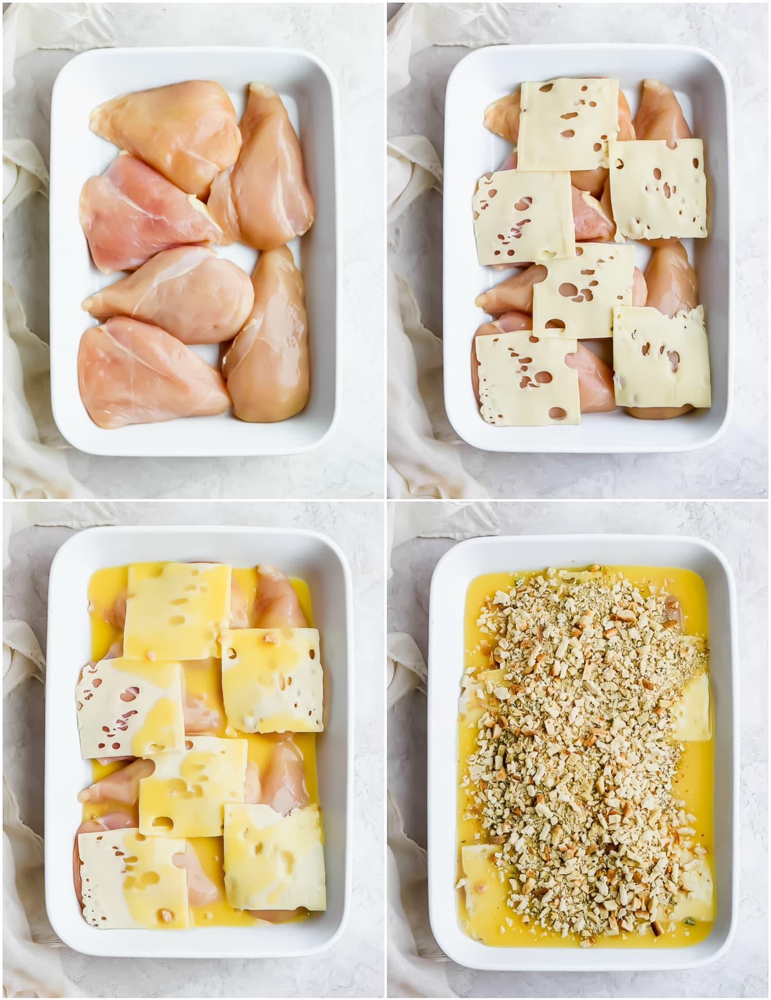 This 5-Ingredient Swiss Chicken Casserole Is So Easy You Won't Believe It