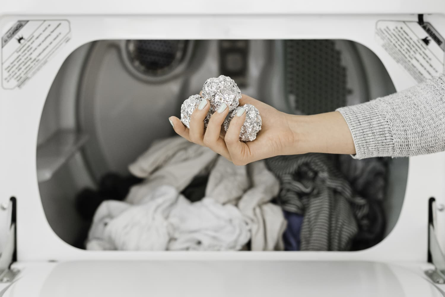 The Weird Reason Some People Are Putting Aluminum Foil in Their Dryers