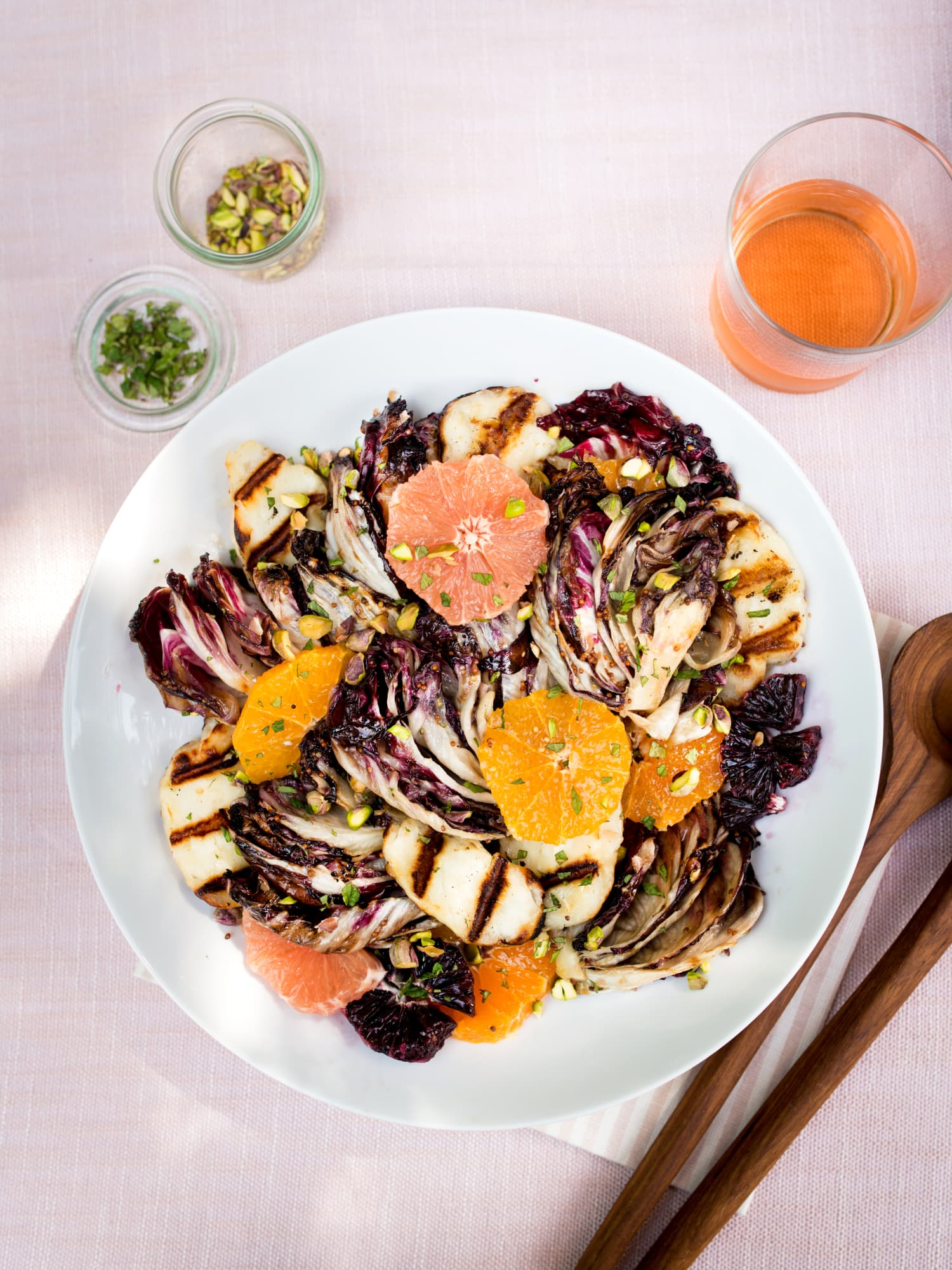 This Halloumi Salad Is the Next Best Thing to Eating the Cheese Straight from the Grill