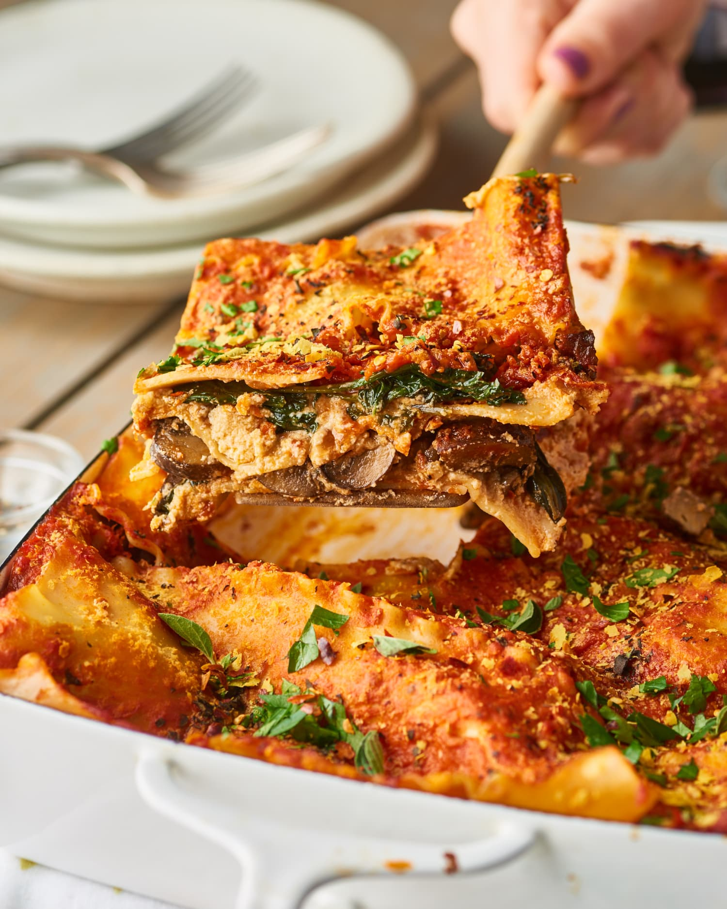This Vegan Lasagna is Guaranteed to Fool Your Cheese-Loving Friends