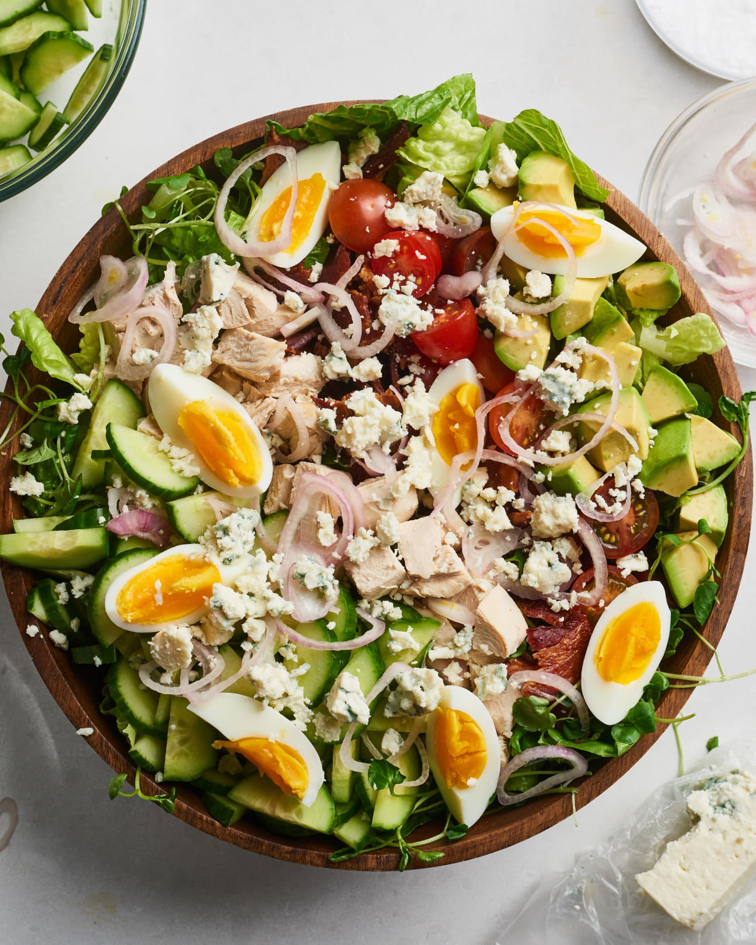 The Very Best Way to Make a Classic Cobb Salad at Home