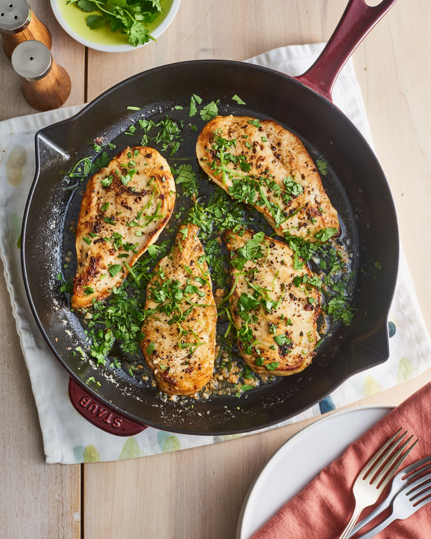 5-Ingredient Cilantro-Lime Chicken Is a Weeknight Win