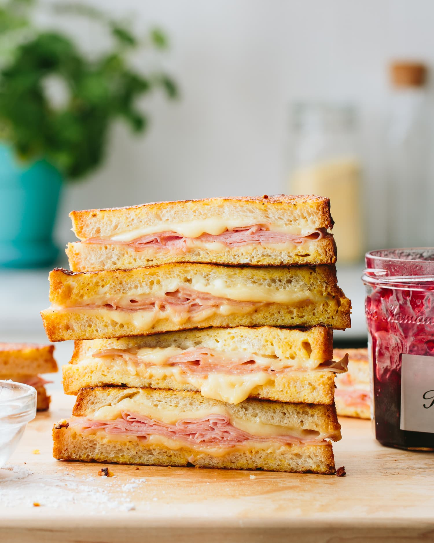 This Sweet and Savory Sandwich Is What Every Grilled Cheese Wants to Grow Up to Be