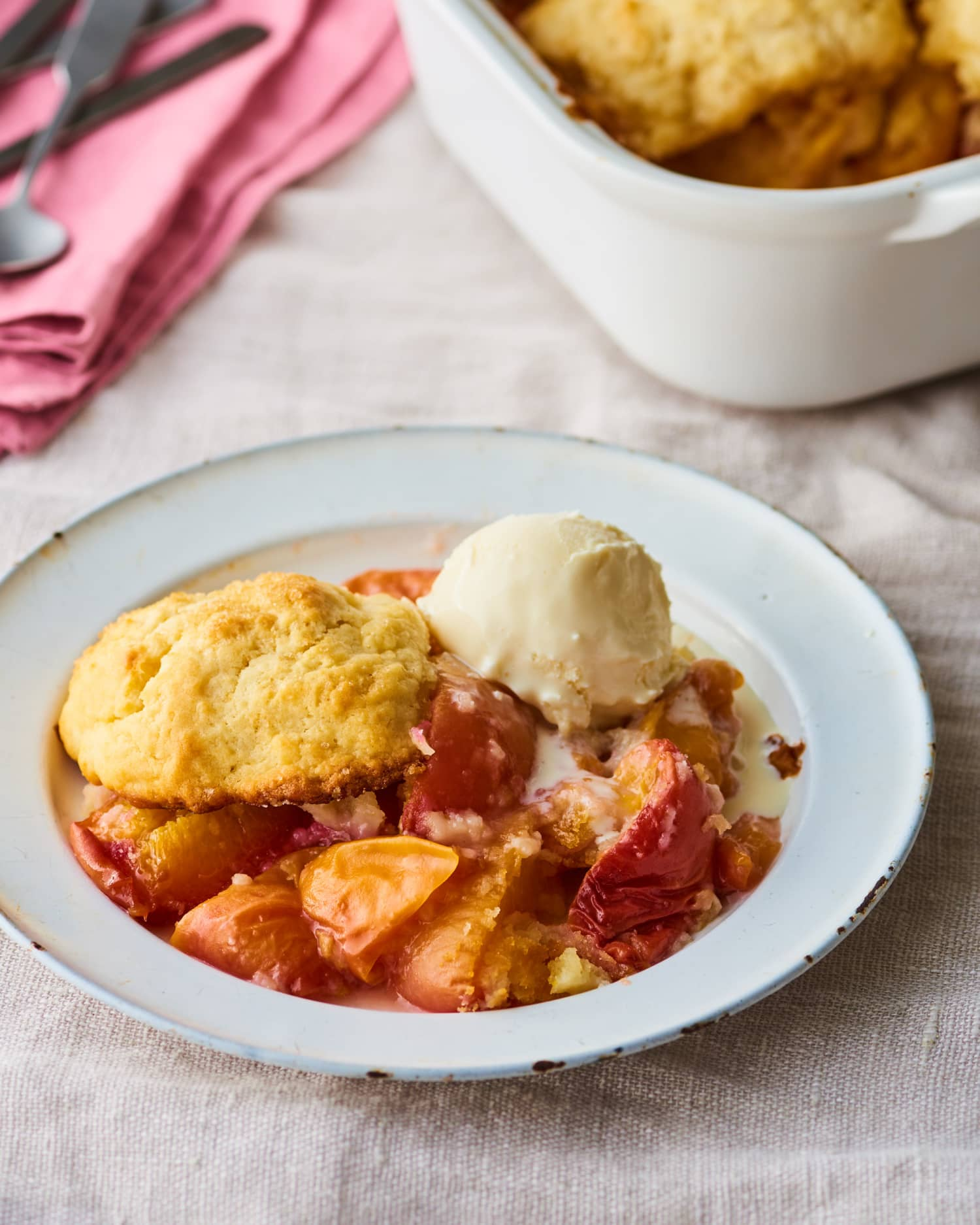 This Southern Peach Cobbler Is a Potluck Favorite