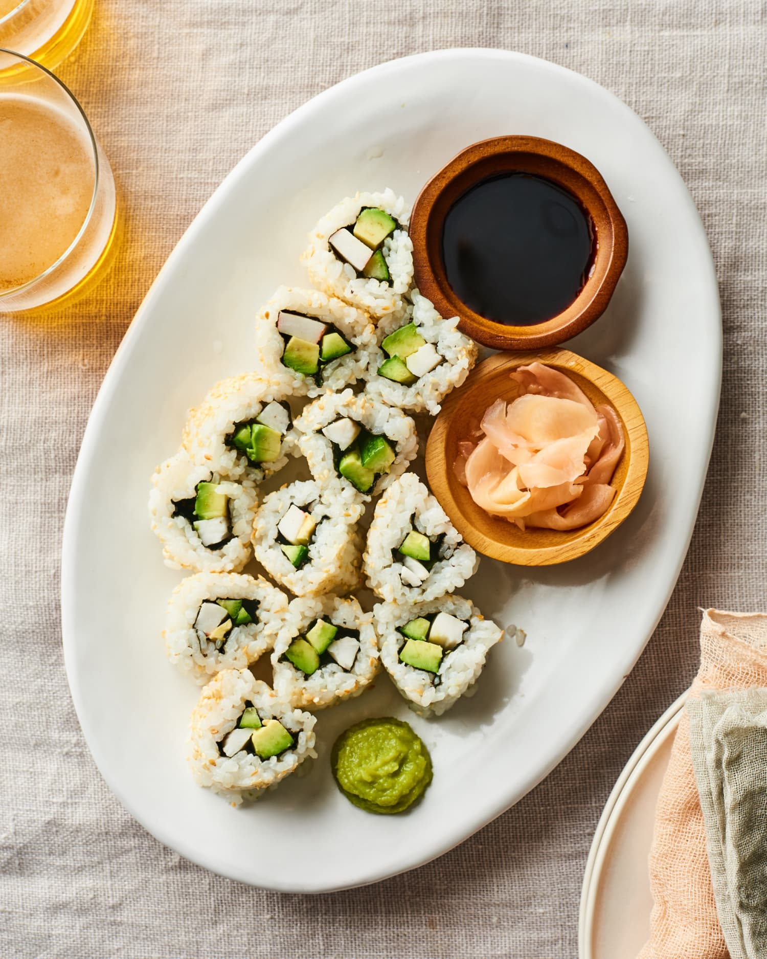 How To Make a California Roll, the Perfect Roll for Sushi Newbies