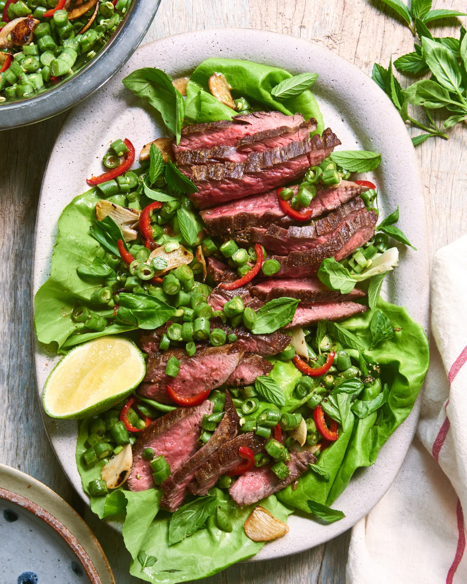 This Summery Steak Dinner Comes Together Incredibly Fast