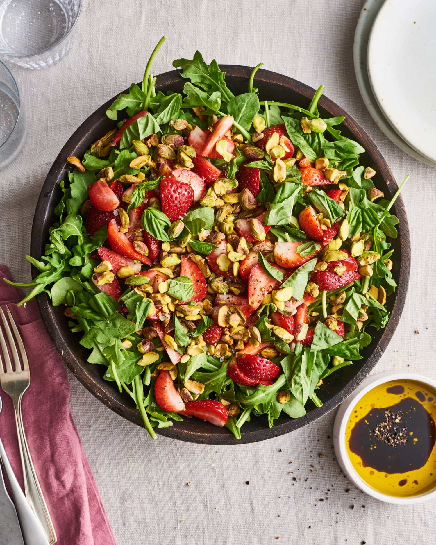 One Surprise Ingredient Makes This Strawberry Salad Irresistible