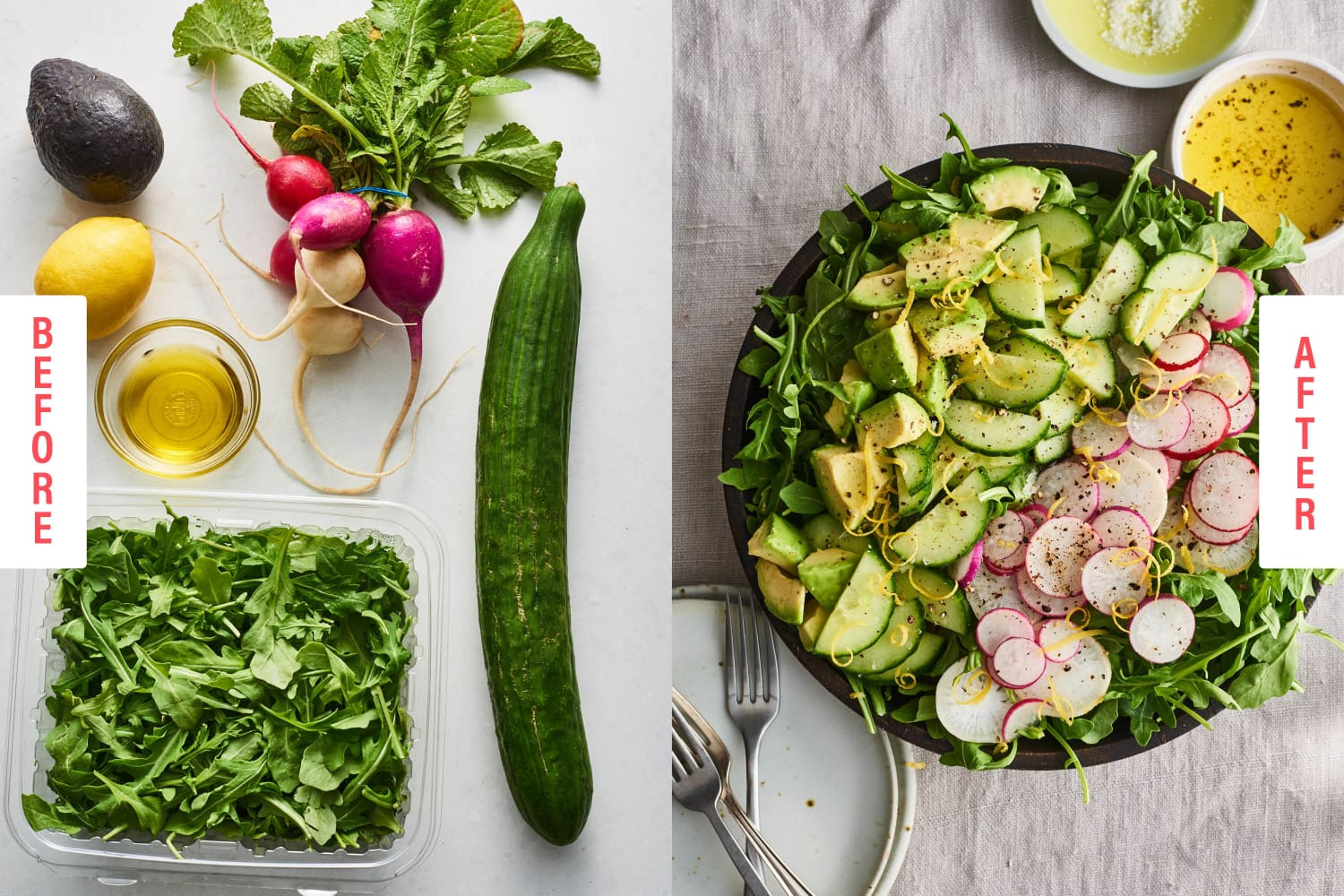 The 5 Easiest-Ever Side Salads You Need to Memorize ASAP