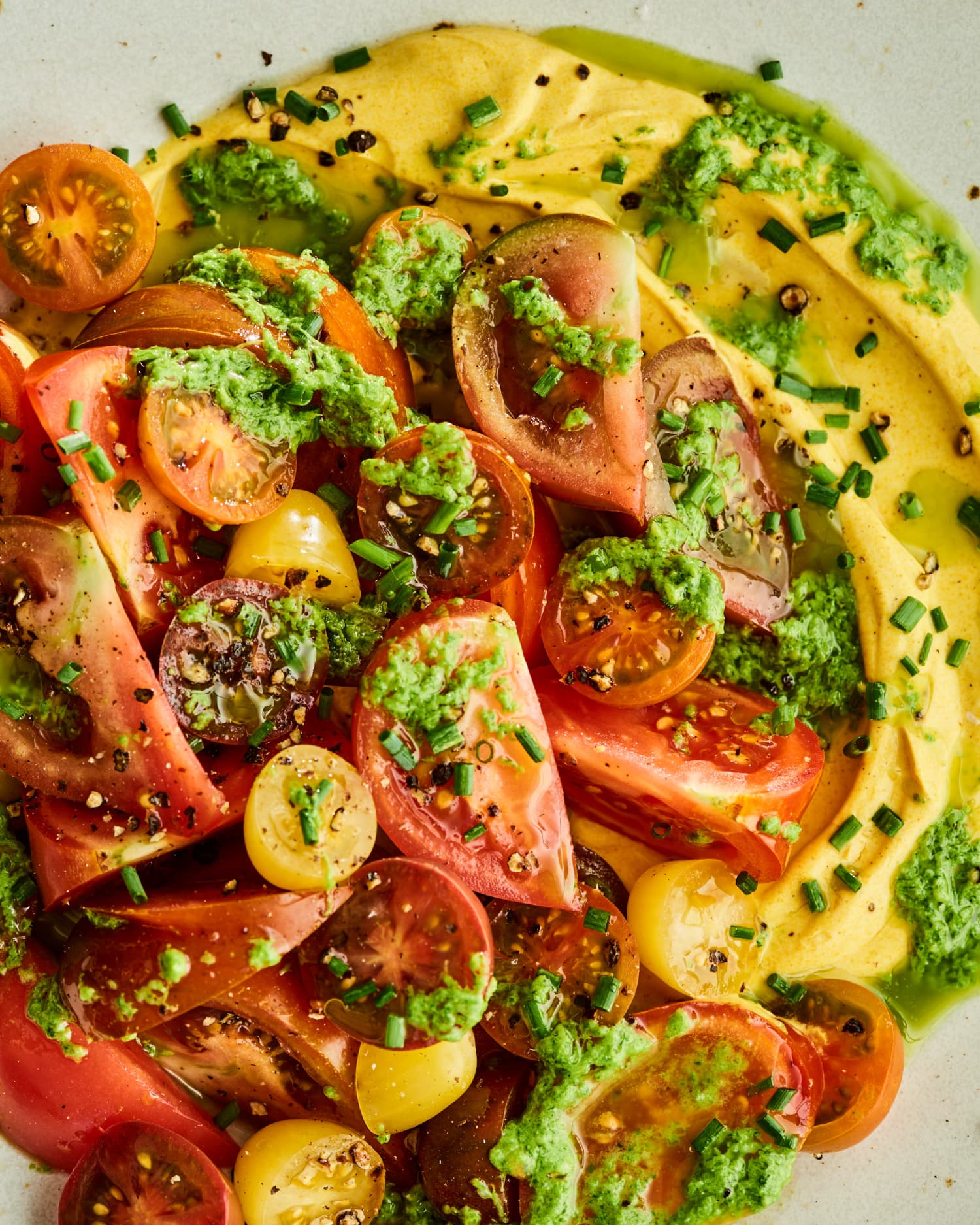 Fresh and Creamy Tomato Salad Is the Ultimate Summer Dish