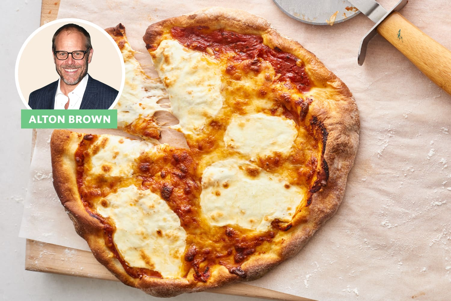 Alton Brown's Secret to Chewy, Crispy Pizza Dough