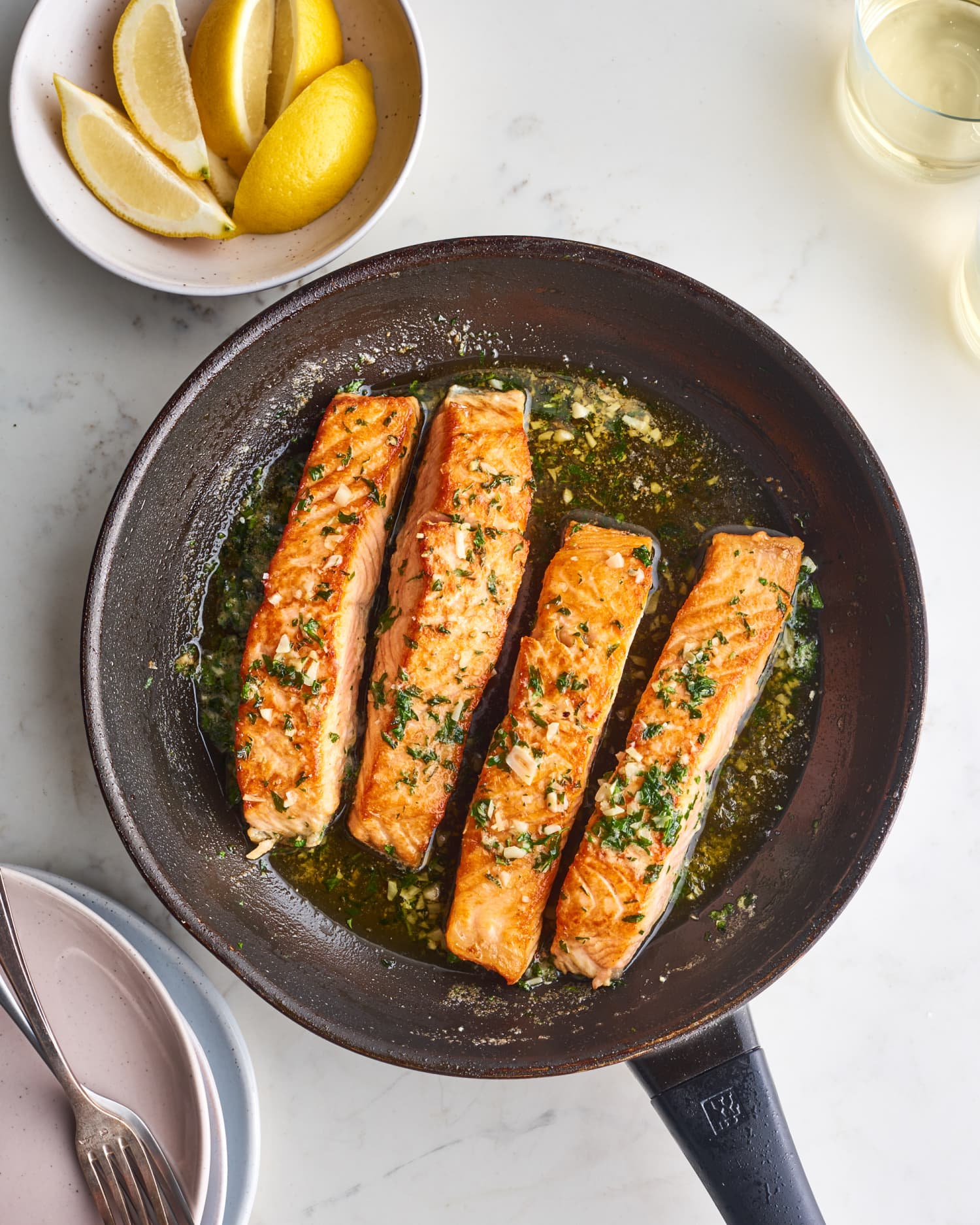 Baste Your Salmon with Garlic Butter, Never Look Back