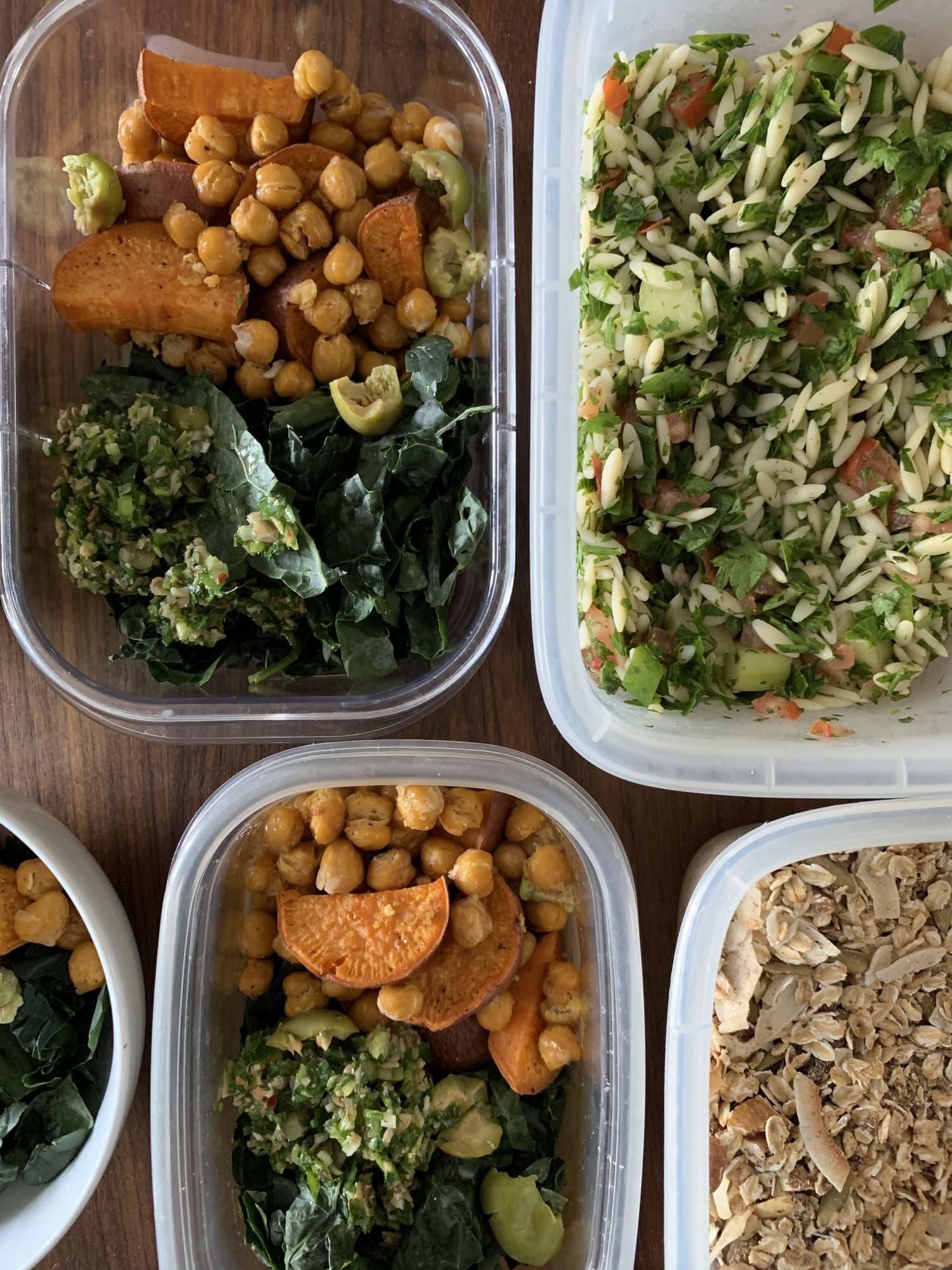 Meal Prep Plan: How I Prep a Week of Meatless Meals in Under 2 Hours