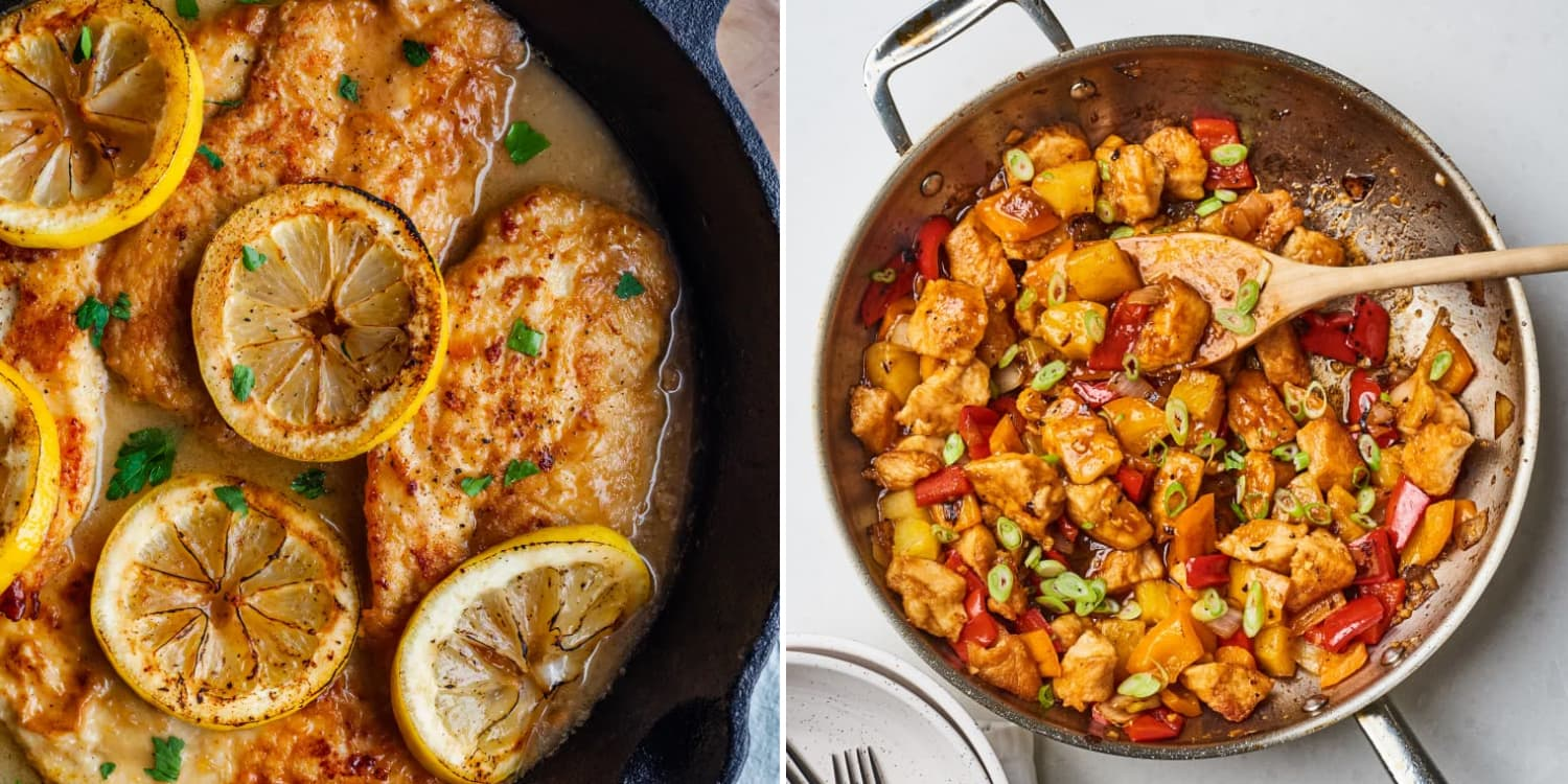 10 Impossibly Easy Chicken Dinners You Can Probably Make Tonight