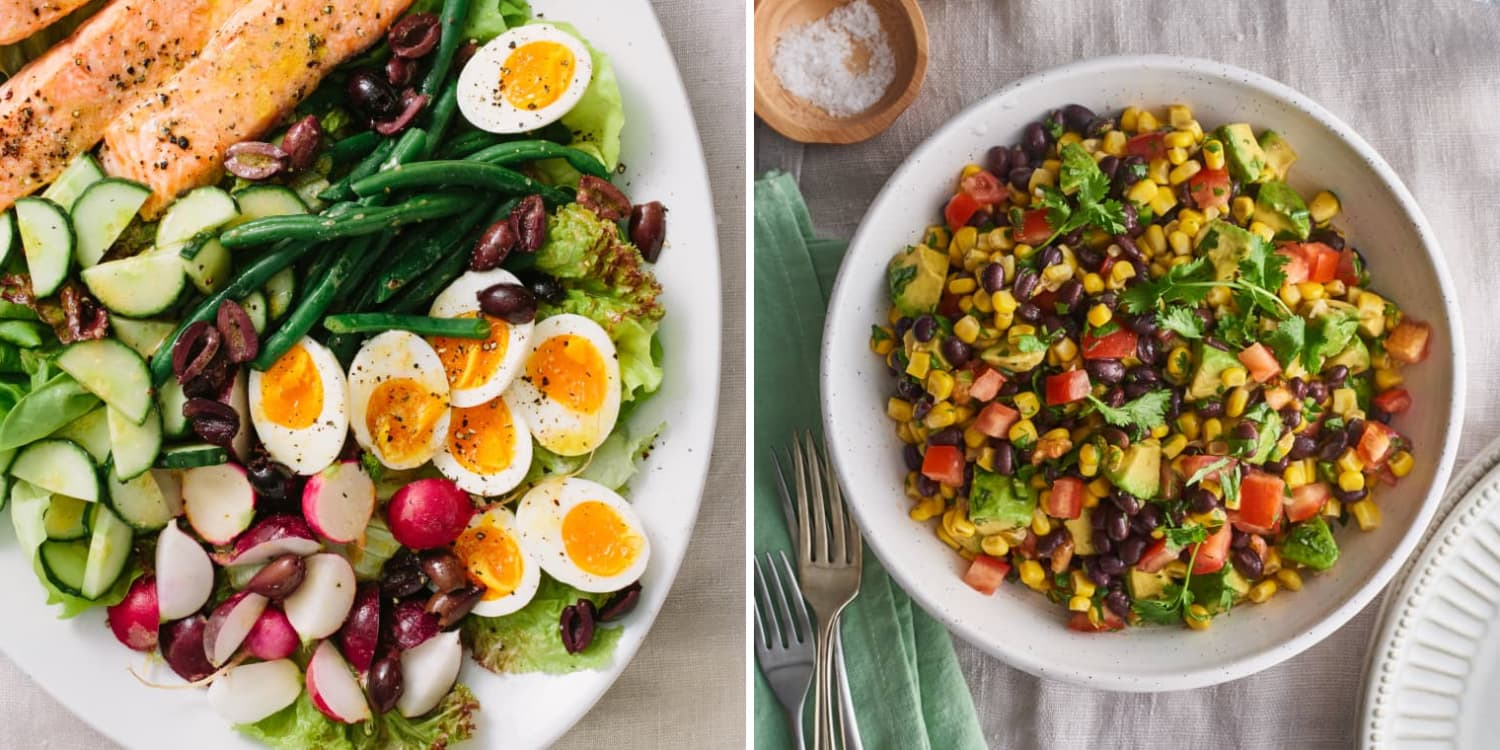10 Satisfying Make-Ahead Lunch Salads