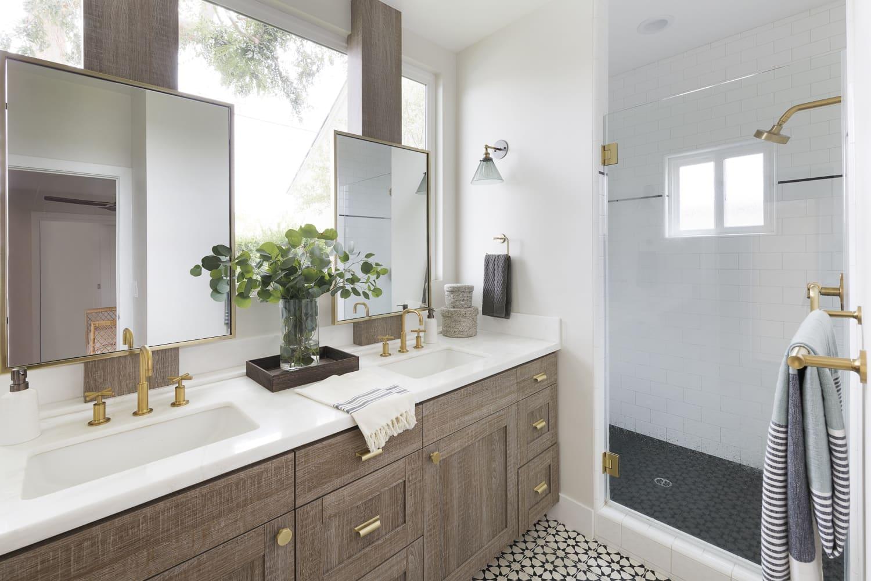 The Surprising $1 IKEA Buy That's Saved My Bathroom Vanity