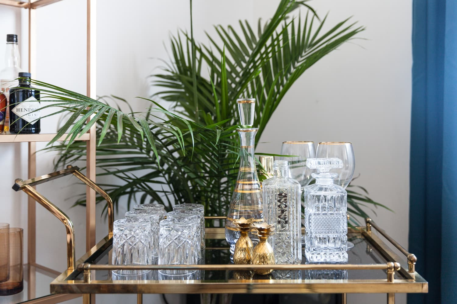 Foldable Bar Carts Are the Genius Answer to Small-Space Entertaining — Here Are 9 You Can Buy Right Now
