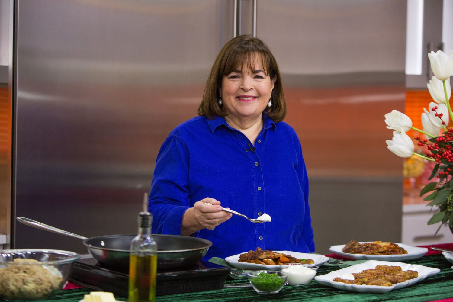 "Ina Garten Shares Her ""Micro"" Thanksgiving Menu for This Year"